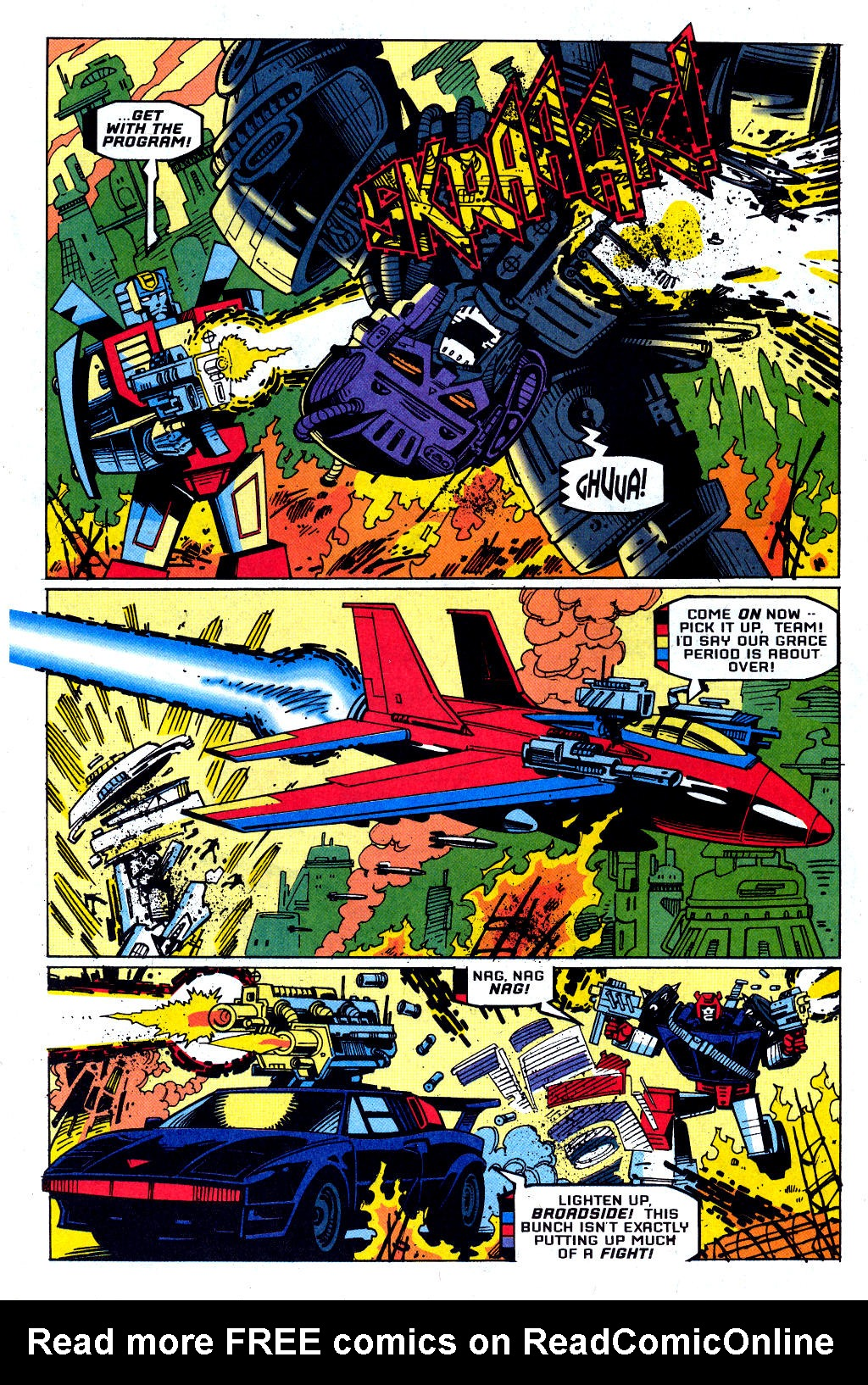 Read online Transformers: Generation 2 comic -  Issue #1 - 6