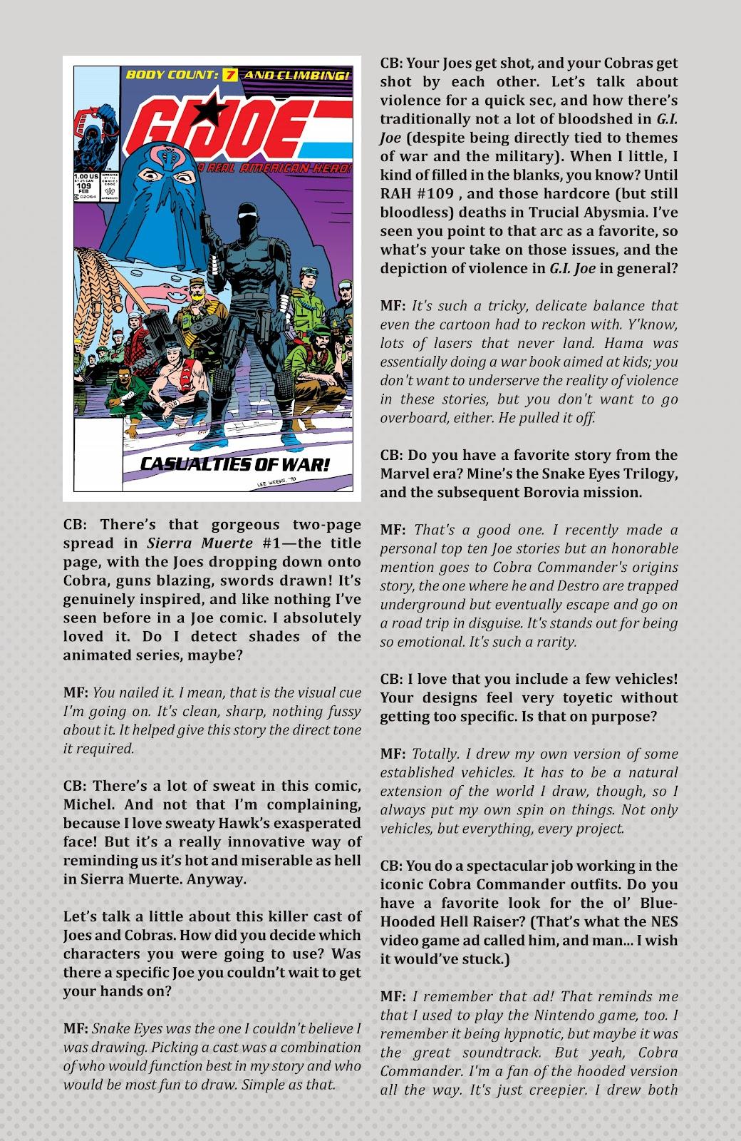 Read online G.I. Joe: Sierra Muerte comic -  Issue #3 - 30