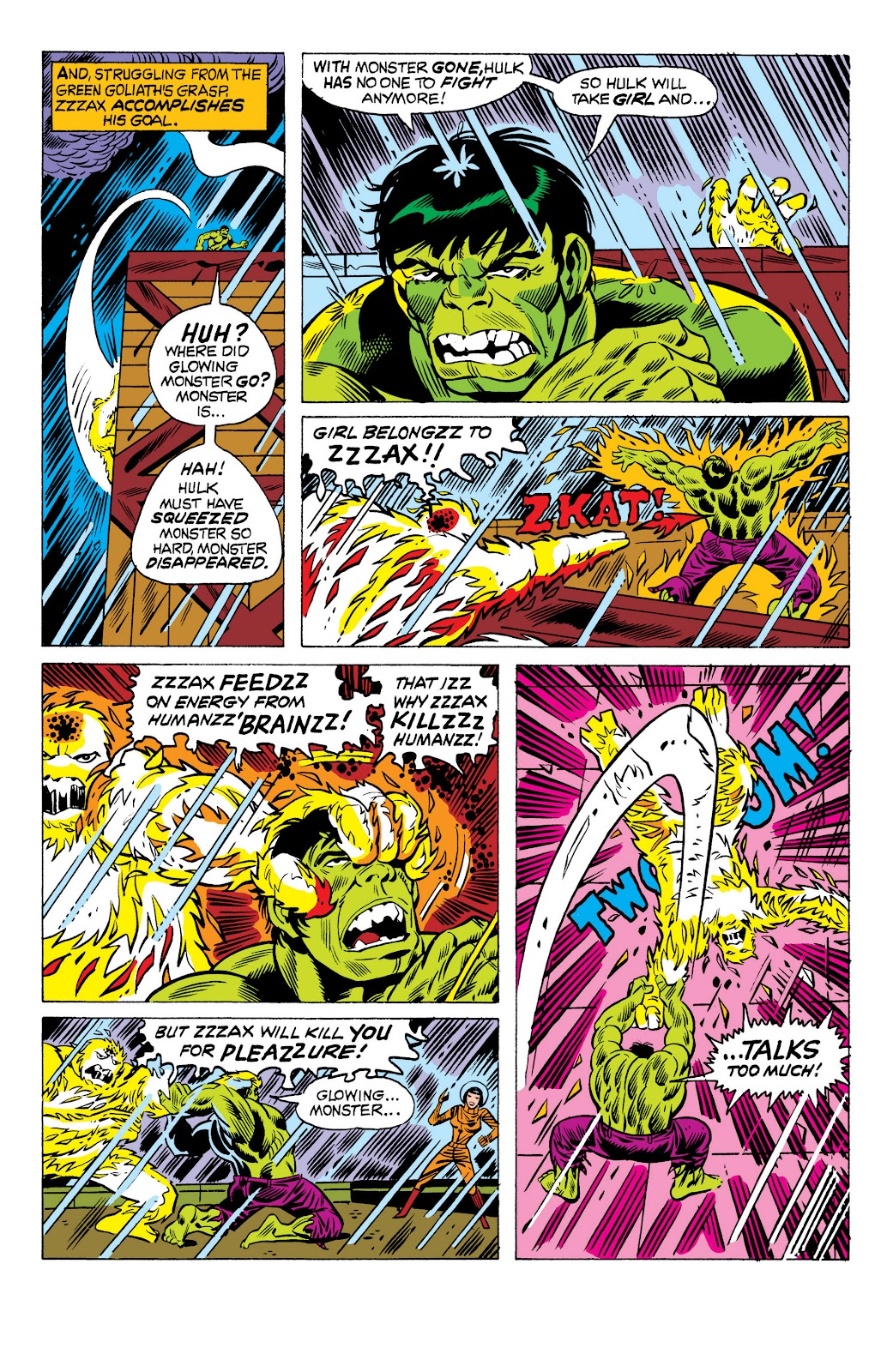 Read online Marvel Masterworks: The Incredible Hulk comic -  Issue # TPB 10 (Part 3) - 56
