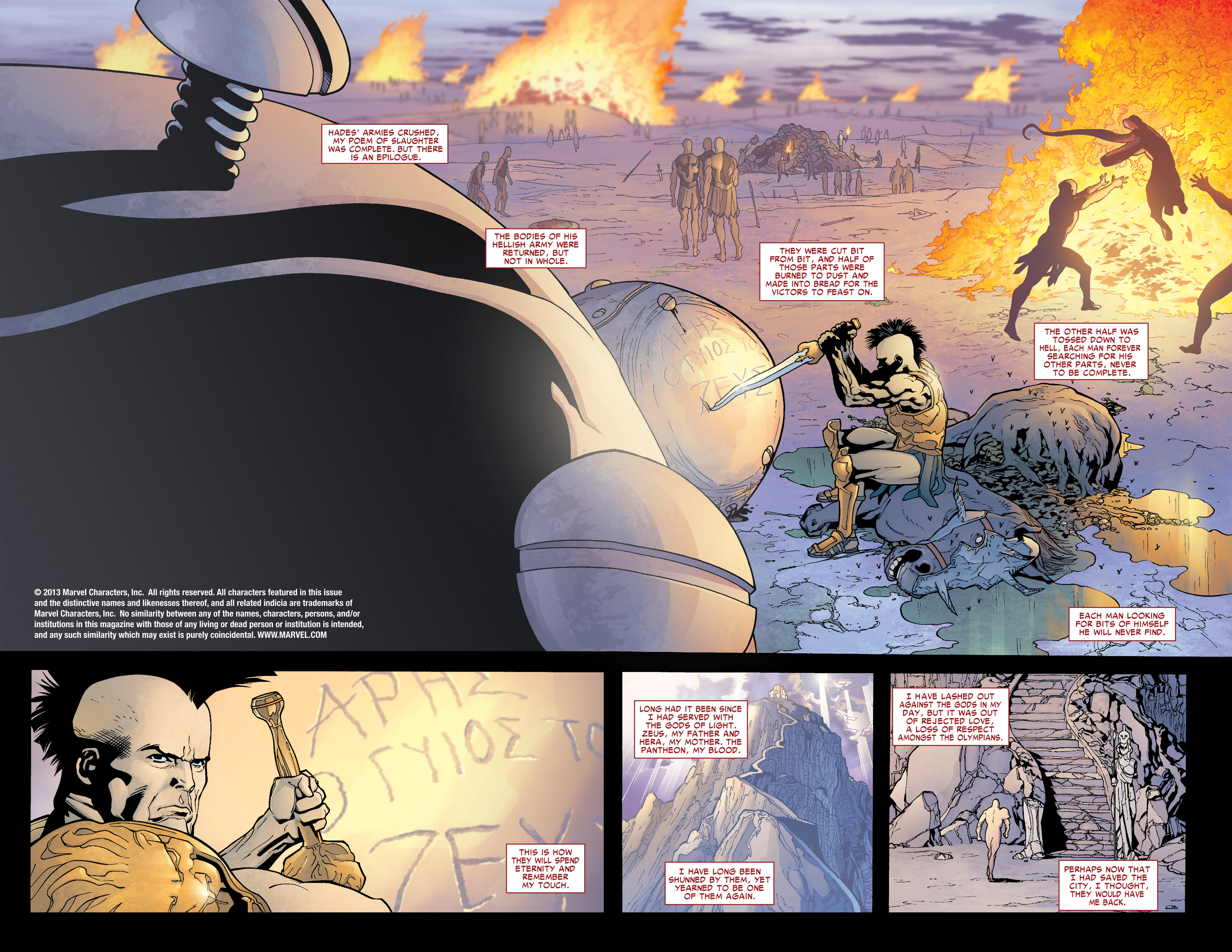 Read online Ares comic -  Issue #1 - 4