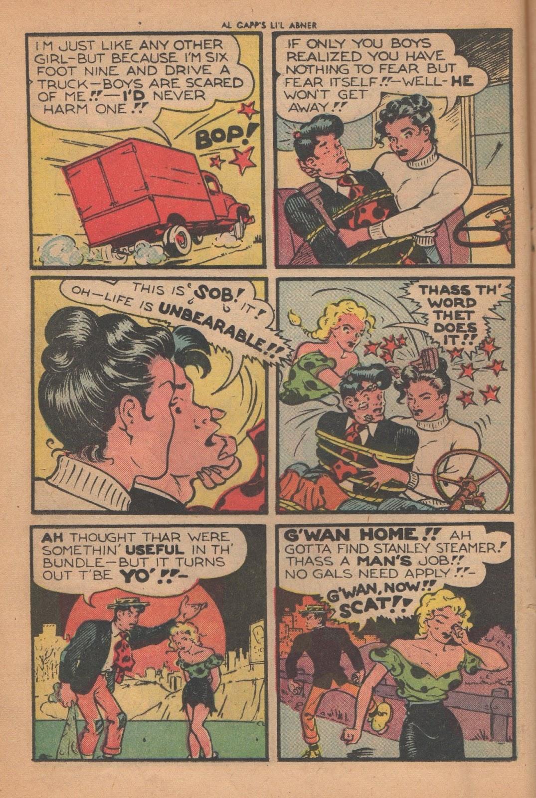 Li'l Abner Comics issue 77 - Page 14
