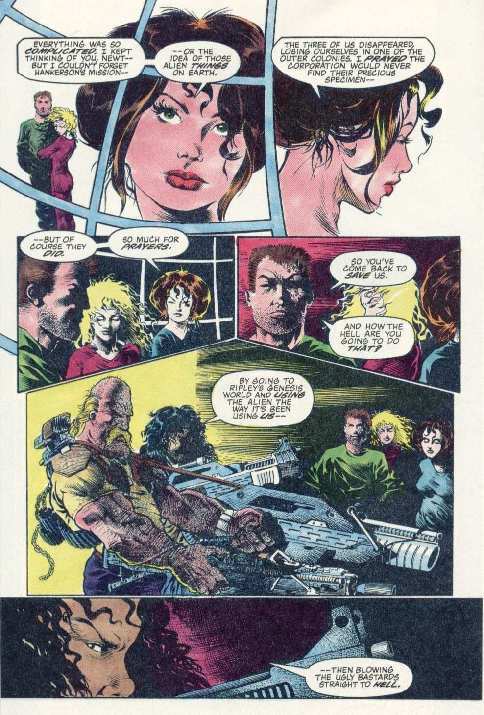 Read online Aliens: Earth War comic -  Issue #1 - 26