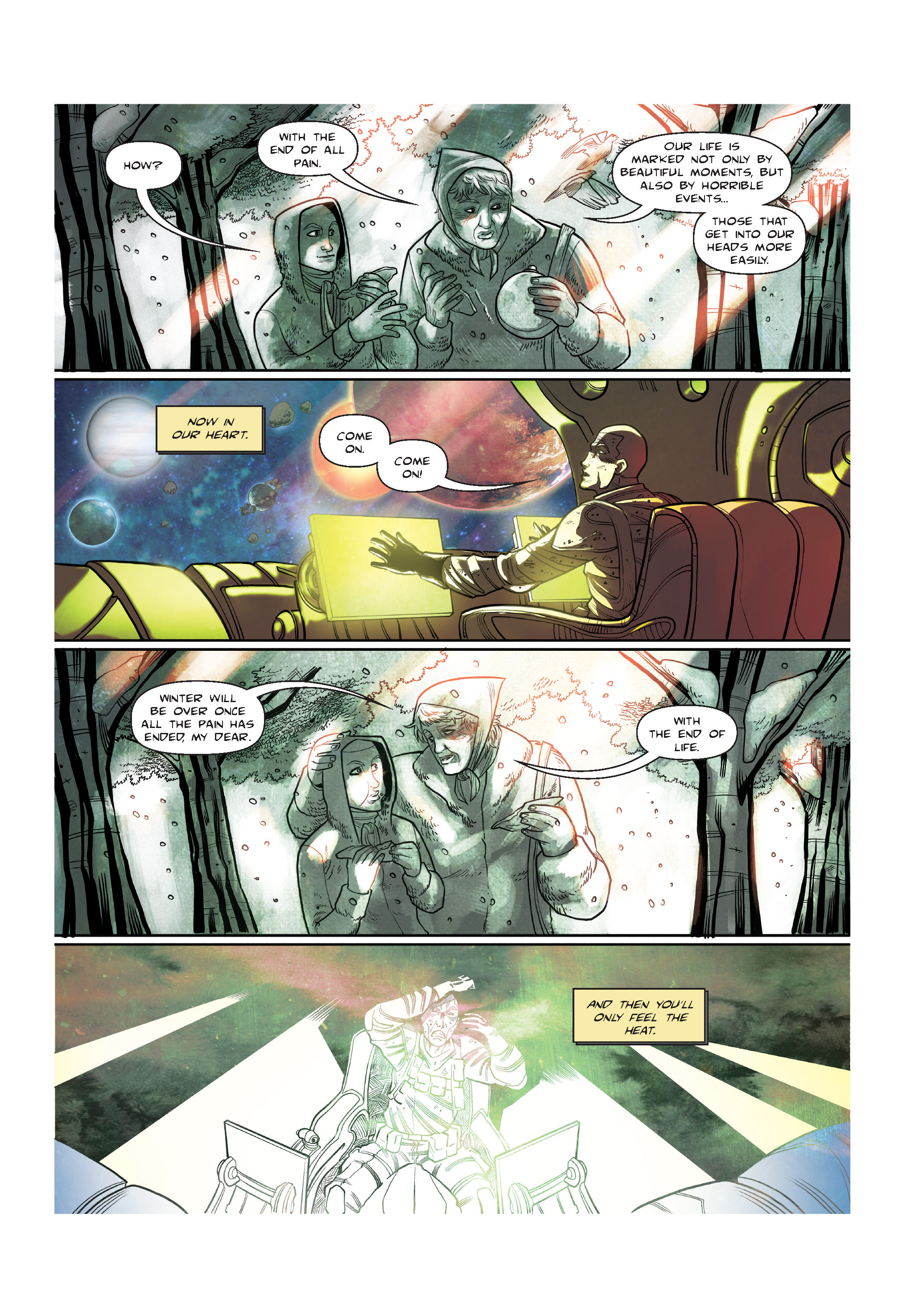 Read online The Shadow of a Terrible Thing comic -  Issue # TPB - 140