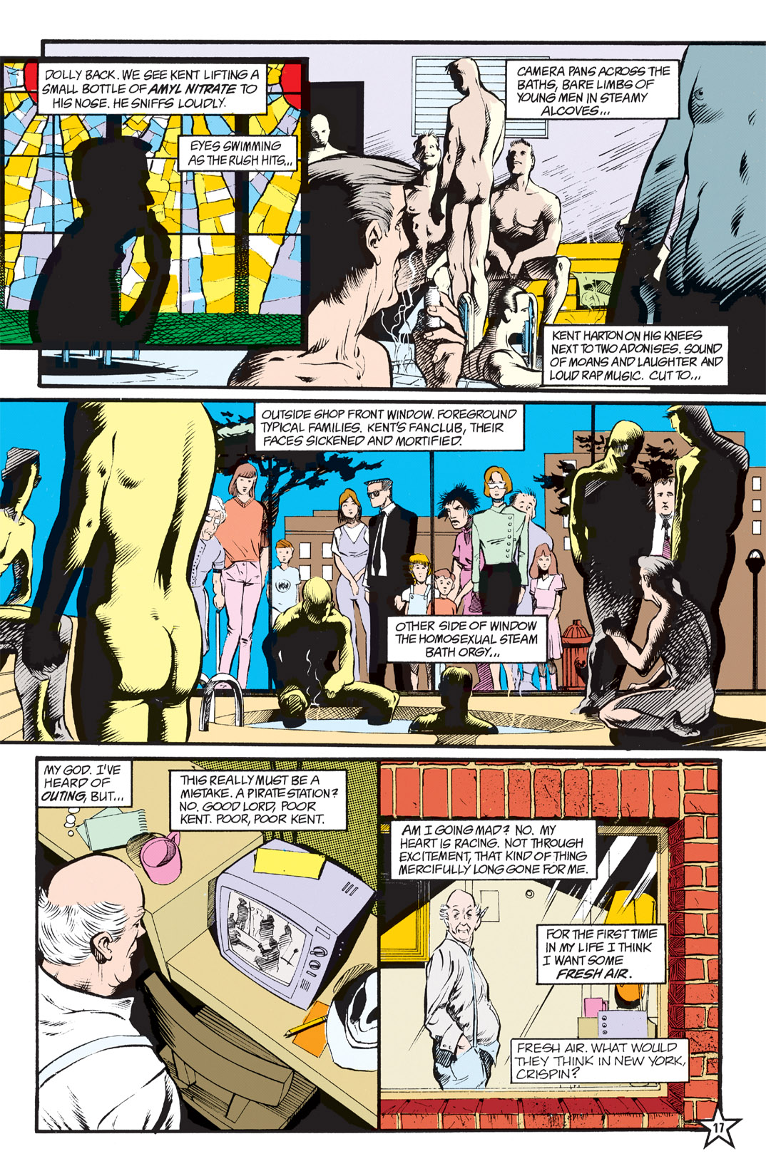 Read online Shade, the Changing Man comic -  Issue #5 - 19