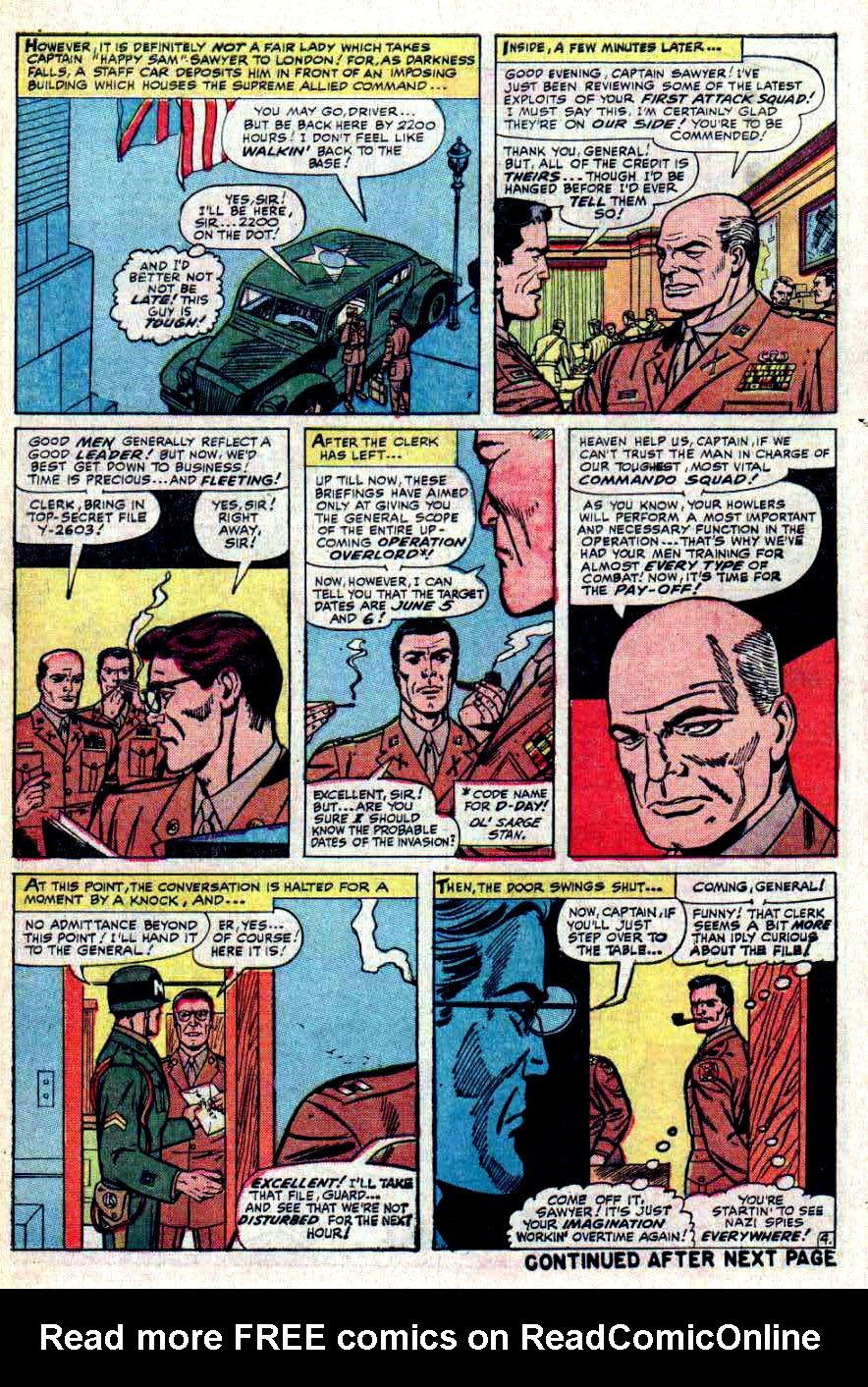 Read online Sgt. Fury comic -  Issue #31 - 6