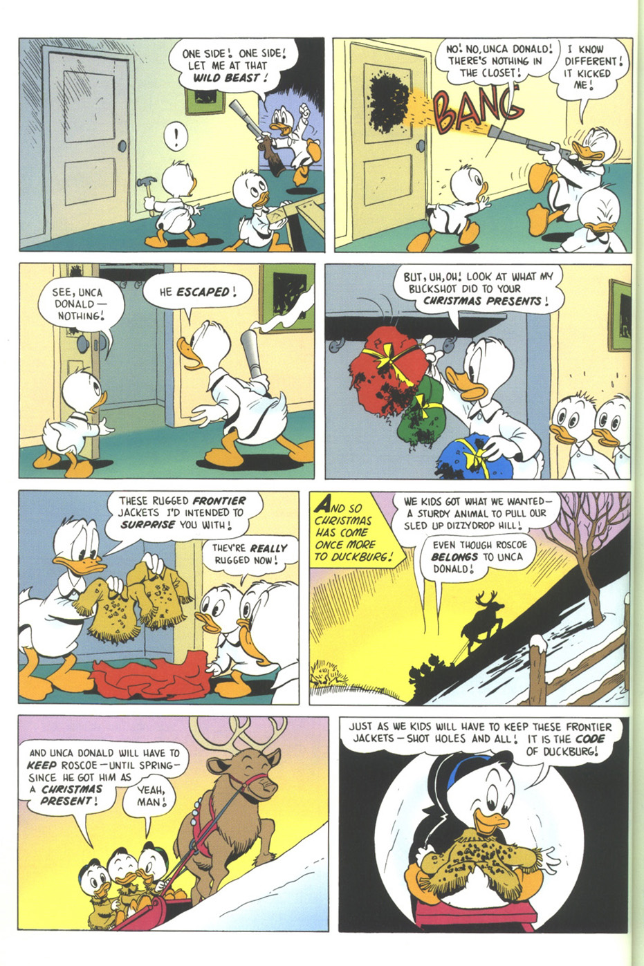 Read online Uncle Scrooge (1953) comic -  Issue #317 - 32