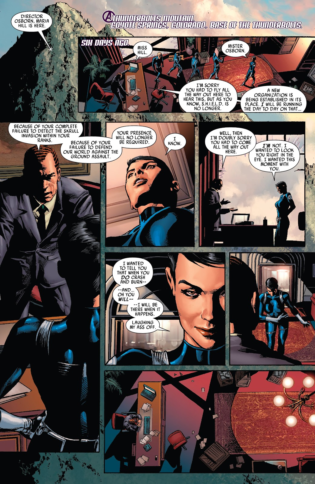 Read online Siege Prelude comic -  Issue # TPB (Part 1) - 9