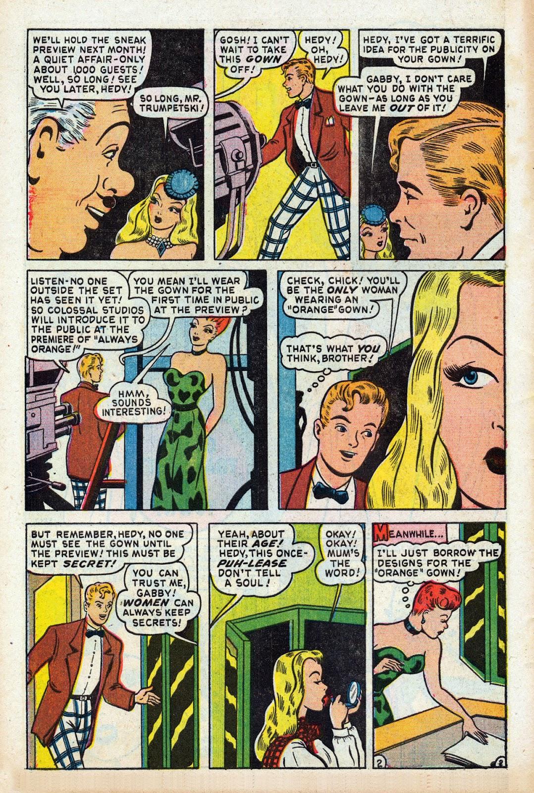 Read online Comedy Comics (1948) comic -  Issue #3 - 4