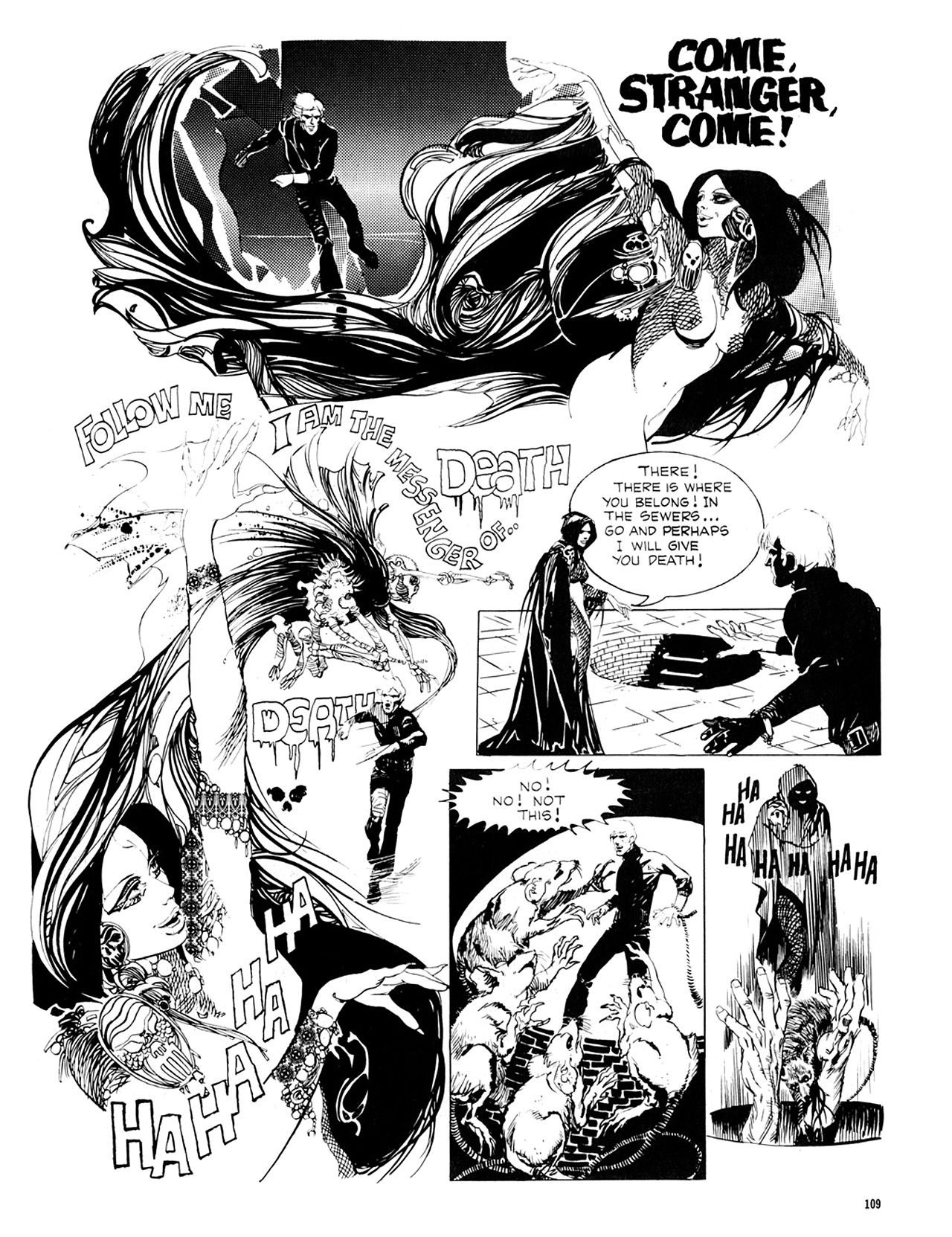 Read online Eerie Archives comic -  Issue # TPB 8 - 110