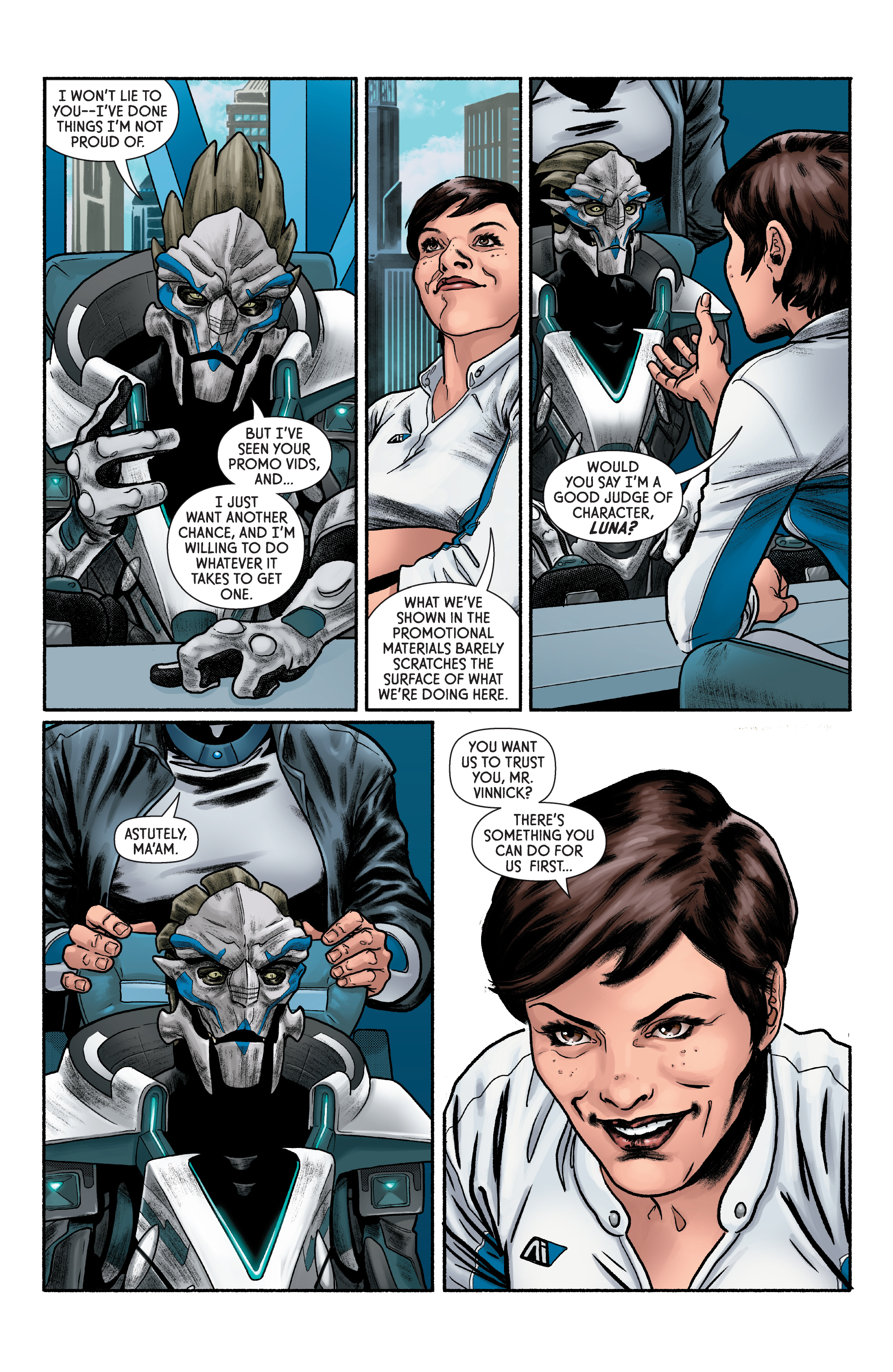 Read online Mass Effect: Discovery comic -  Issue #1 - 18