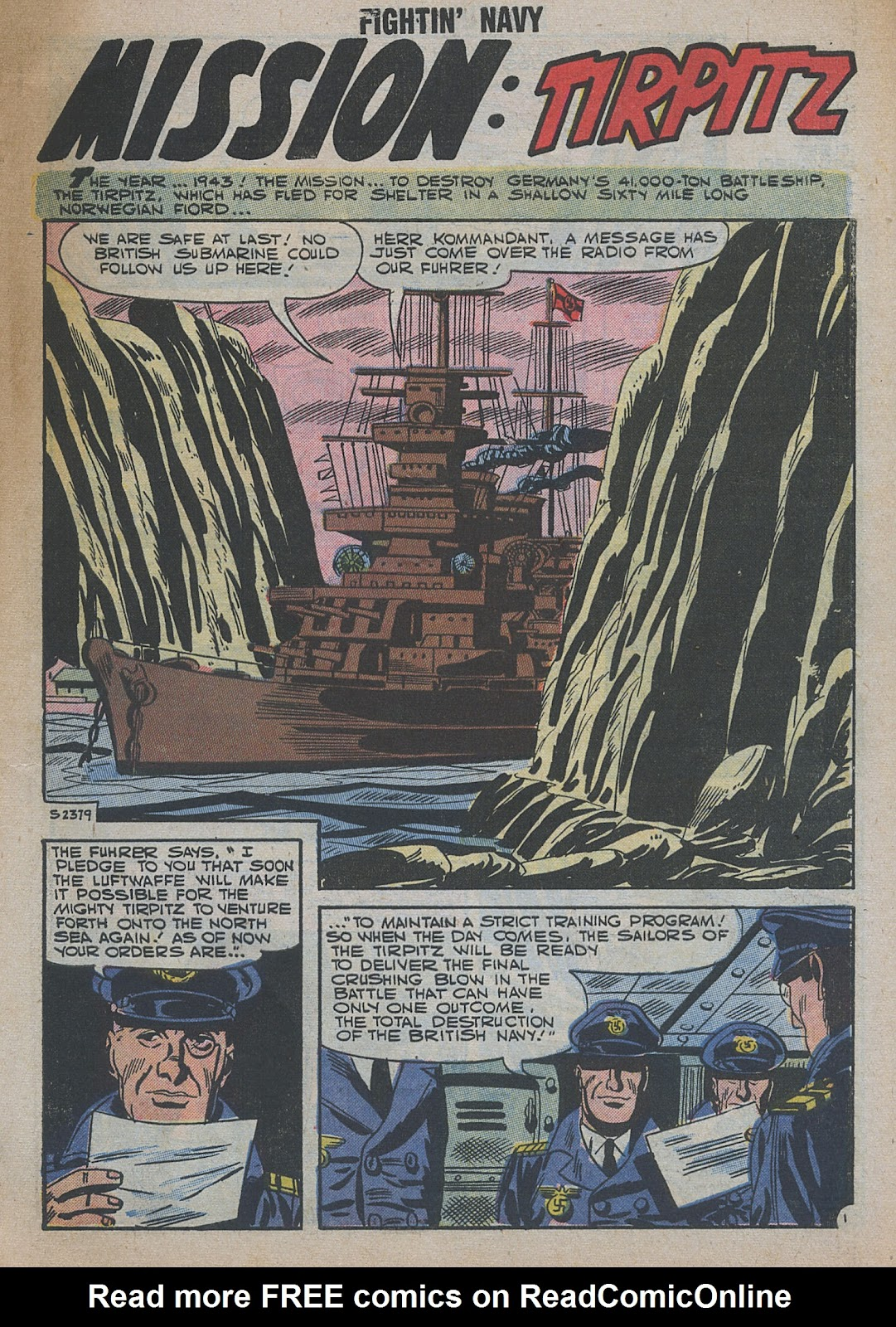 Read online Fightin' Navy comic -  Issue #82 - 59