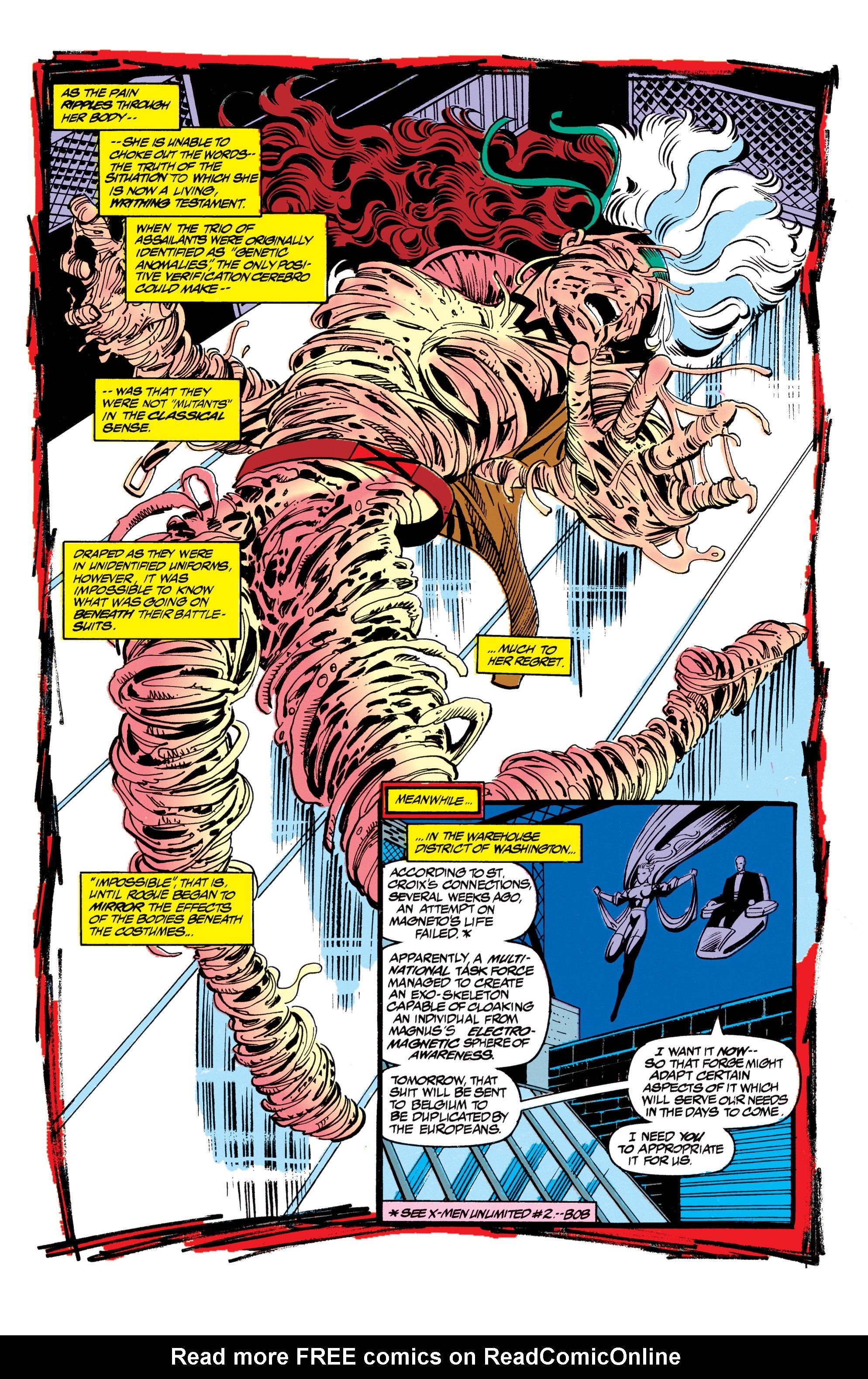 Read online Uncanny X-Men (1963) comic -  Issue #305 - 14