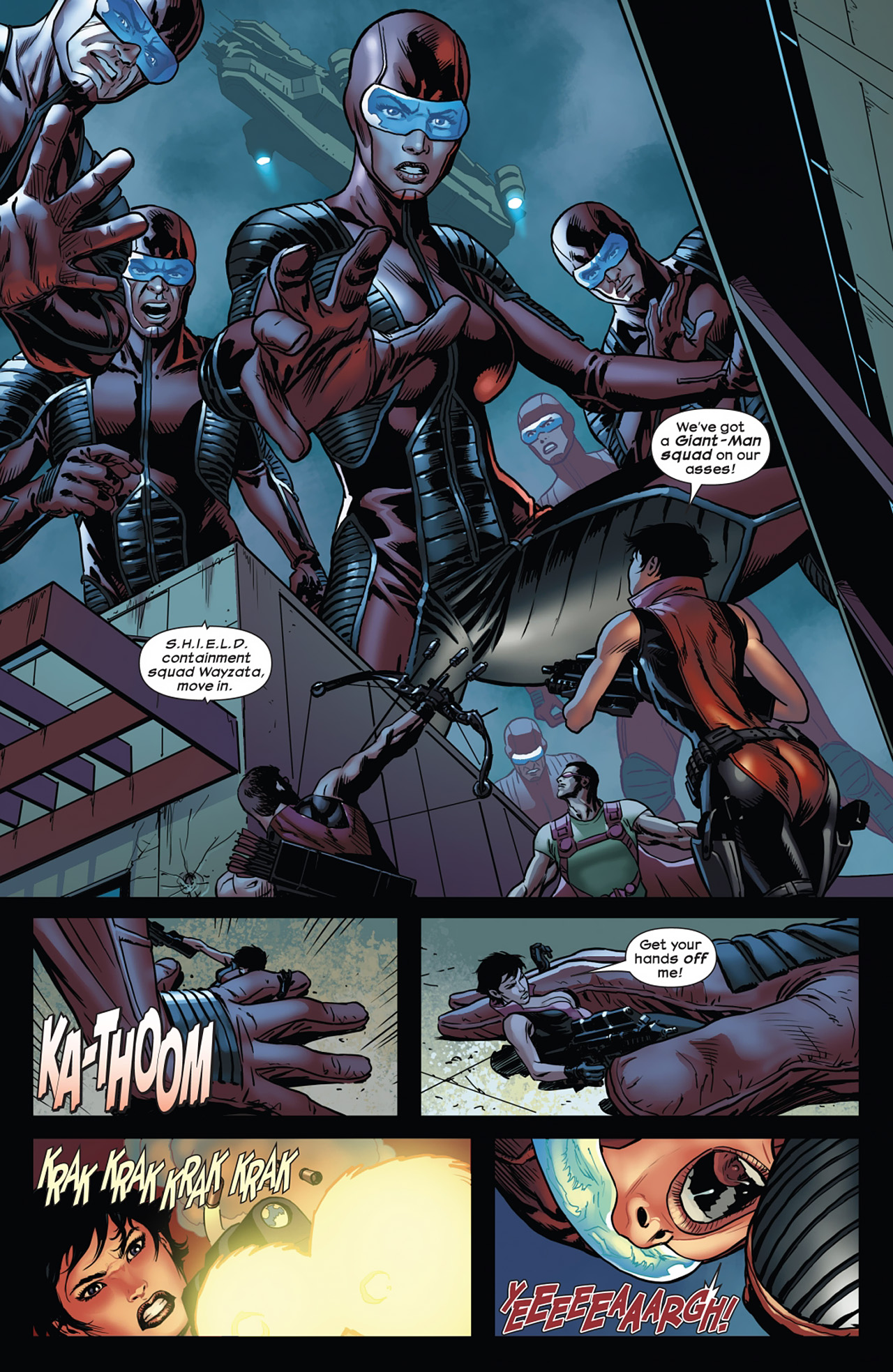 Read online Ultimate Comics Ultimates comic -  Issue #11 - 13