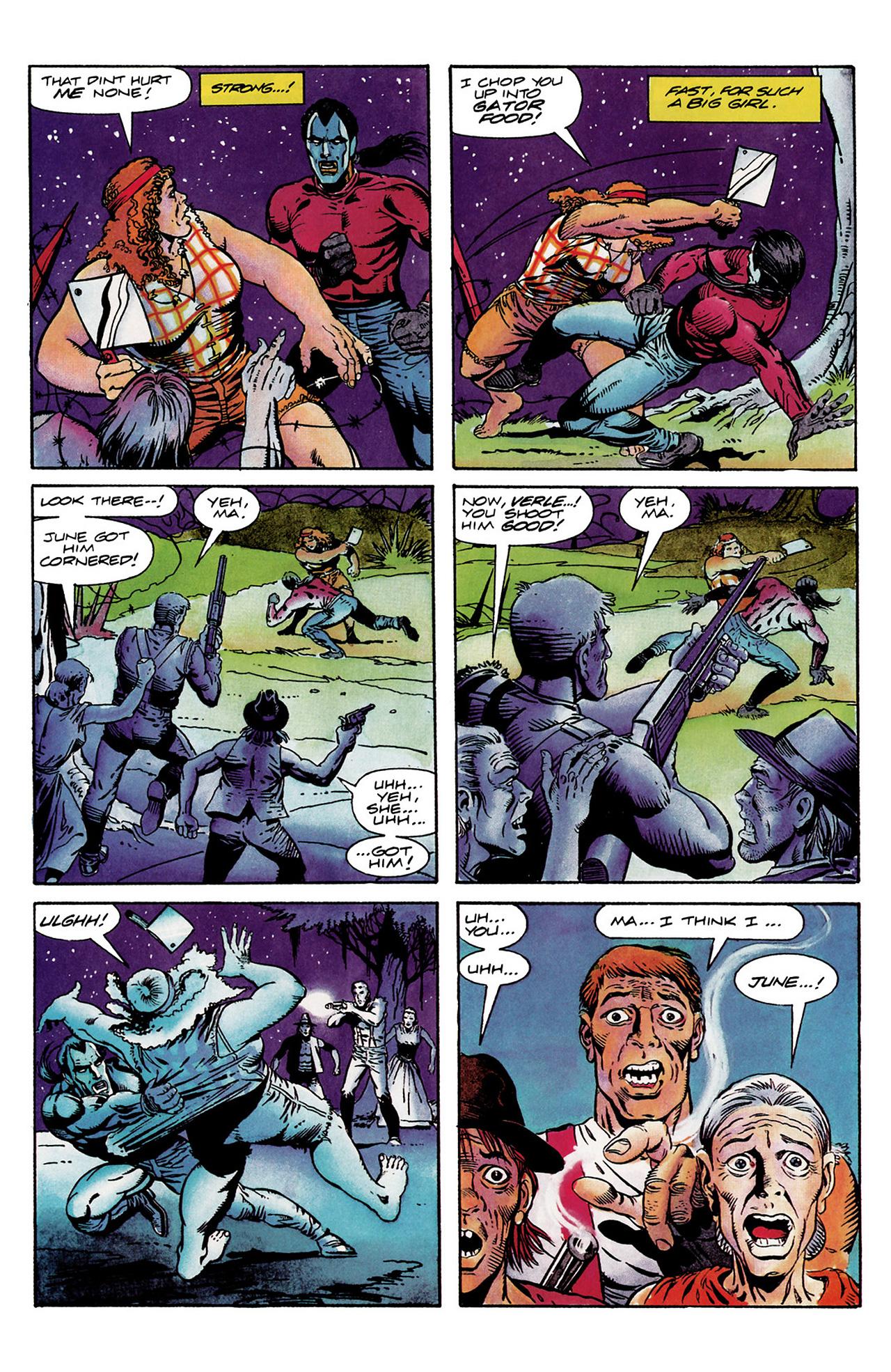 Read online Shadowman (1992) comic -  Issue #6 - 20