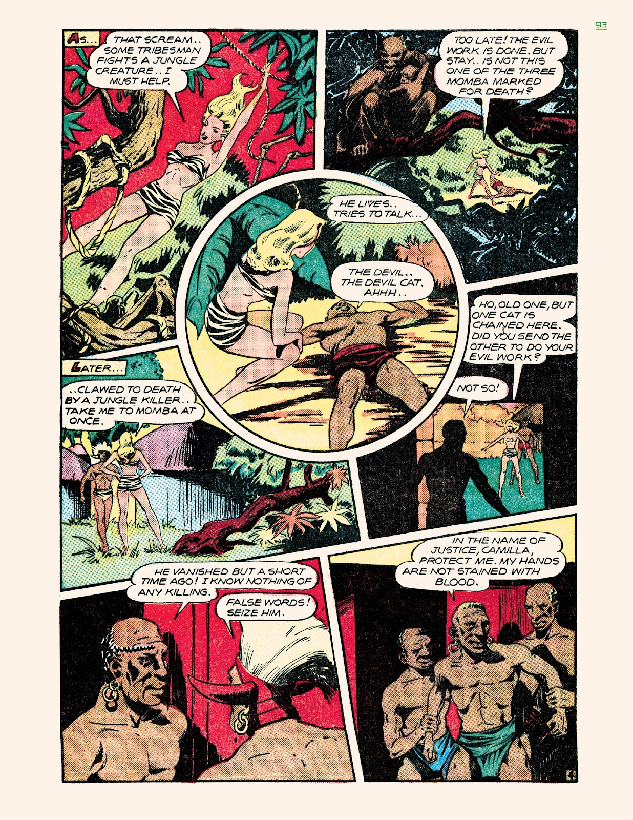 Read online Jungle Girls comic -  Issue # TPB (Part 1) - 93