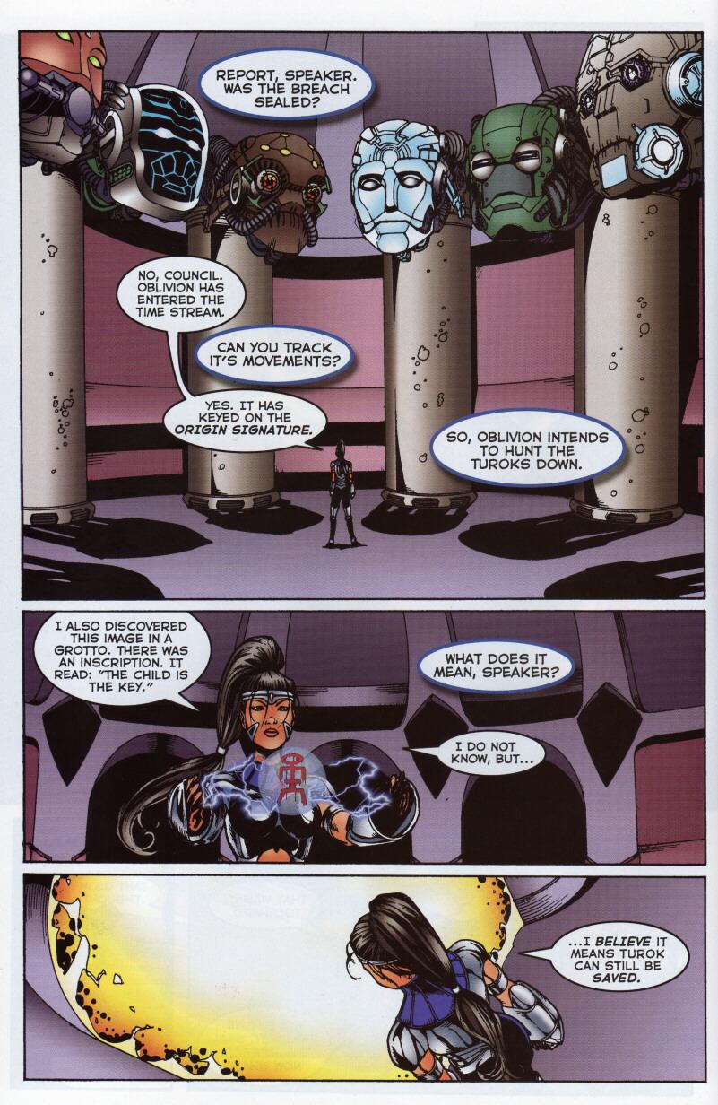 Read online Turok 3: Shadow of Oblivion comic -  Issue # Full - 20