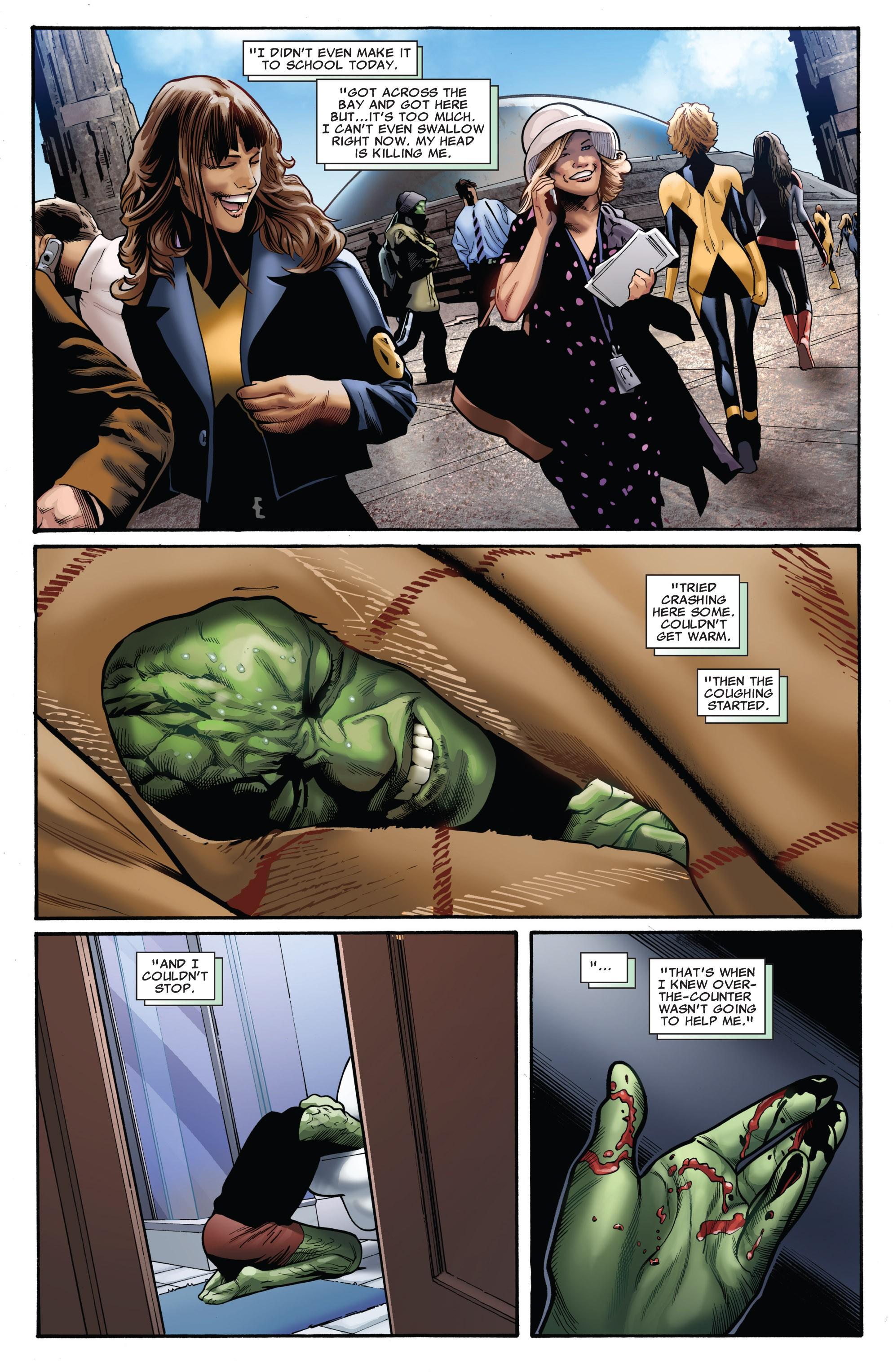 Read online Uncanny X-Men (1963) comic -  Issue #530 - 7