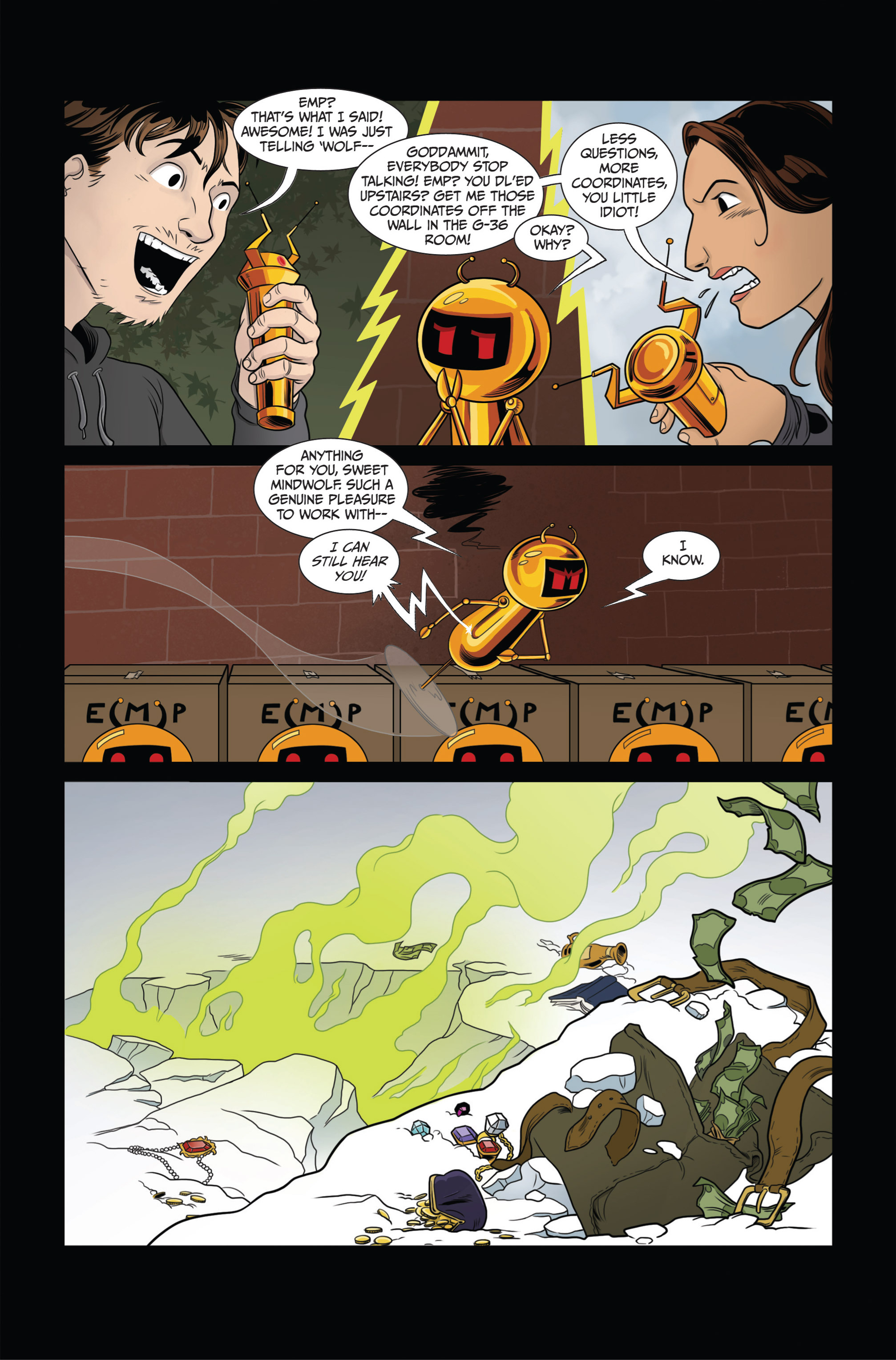 Read online Ehmm Theory: Everything & Small Doses comic -  Issue #3 - 16