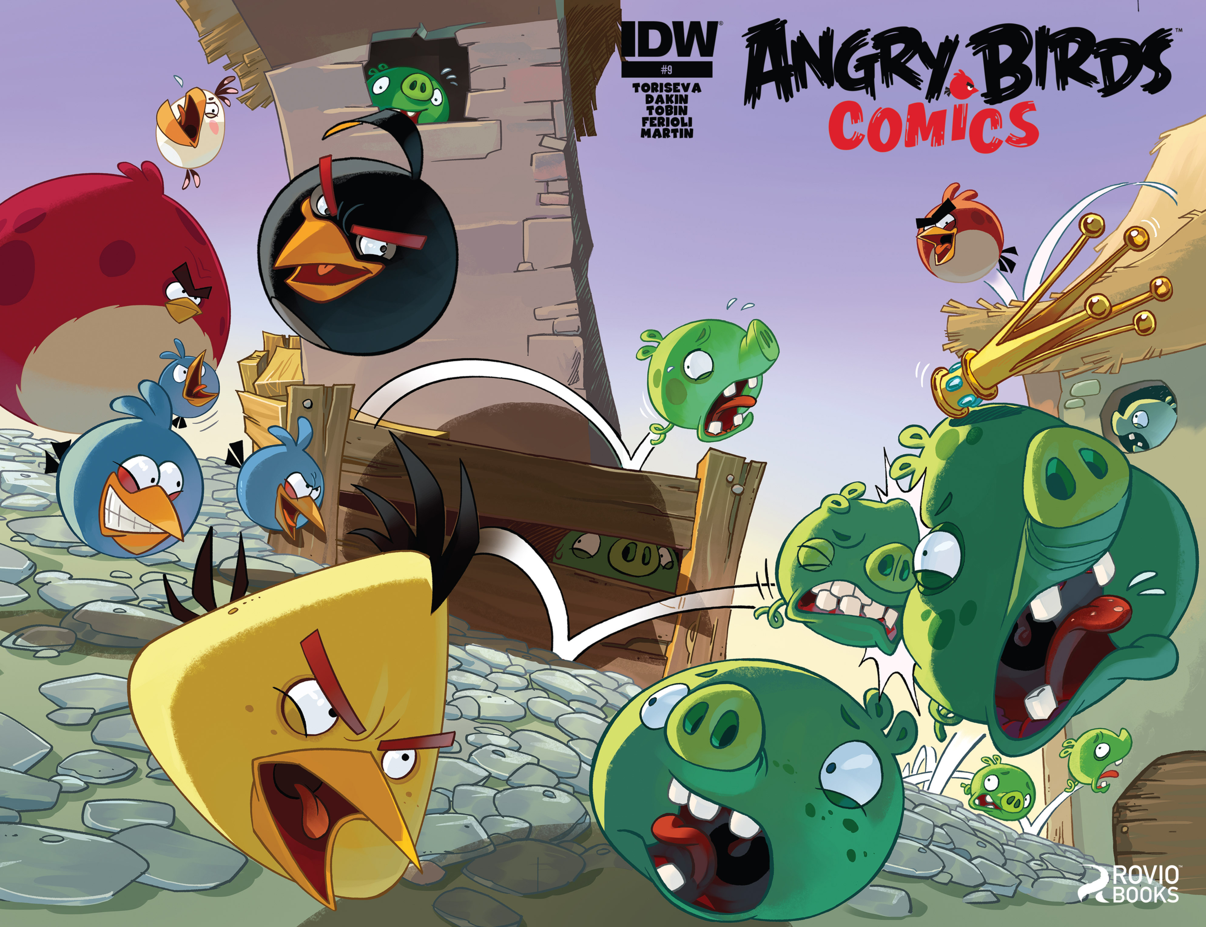 Read online Angry Birds Comics (2014) comic -  Issue #9 - 1