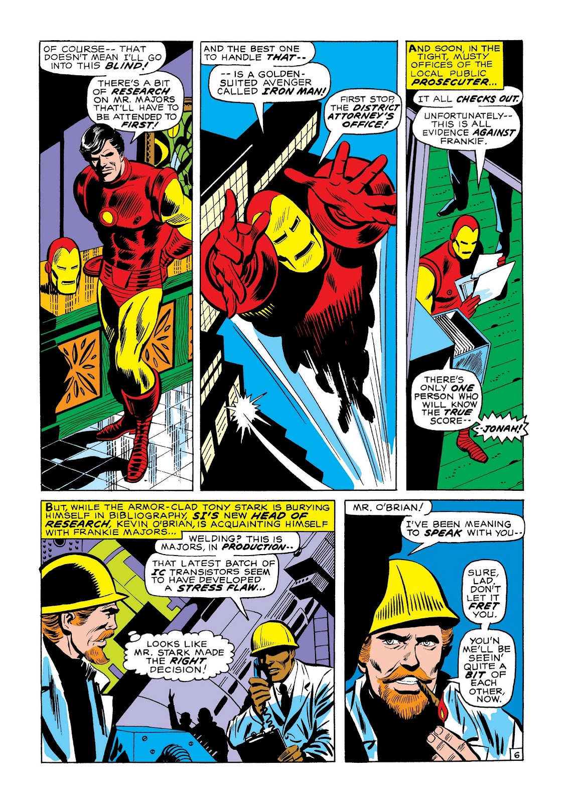 Read online Marvel Masterworks: The Invincible Iron Man comic -  Issue # TPB 7 (Part 3) - 75