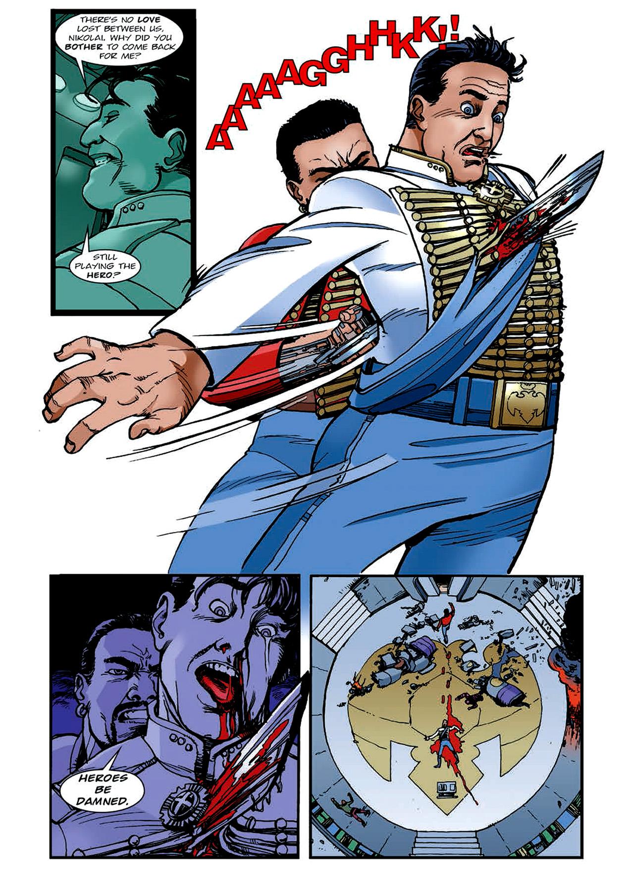 Read online Nikolai Dante comic -  Issue # TPB 4 - 147