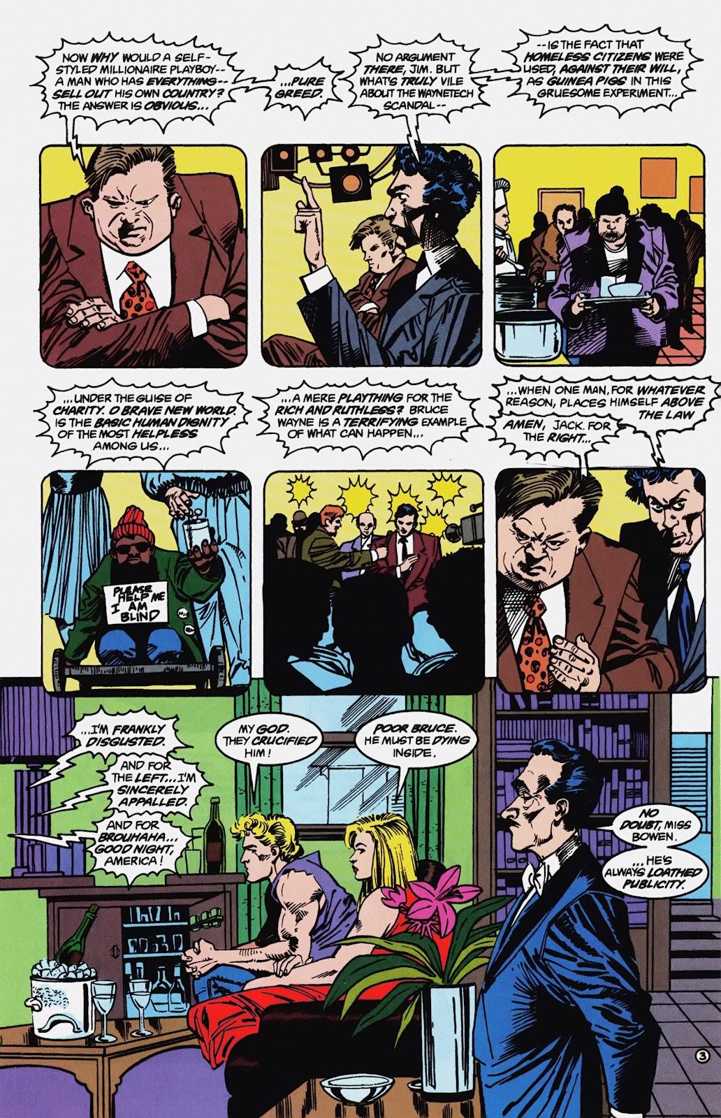 Read online Detective Comics (1937) comic -  Issue # _TPB Batman - Blind Justice (Part 1) - 68