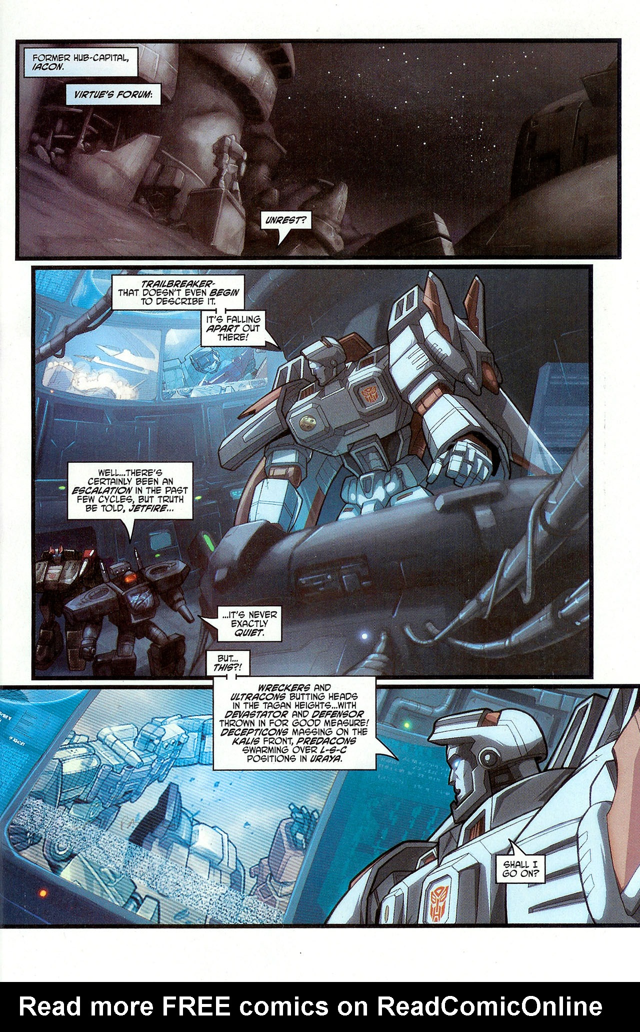 """Read online Transformers War Within: """"The Dark Ages"""" comic -  Issue #3 - 6"""
