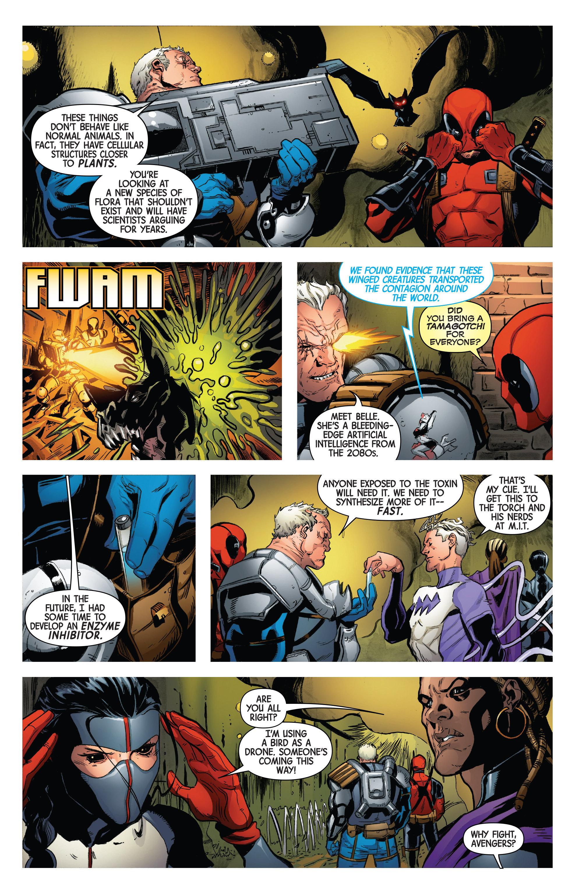 Read online Uncanny Avengers [II] comic -  Issue #3 - 15