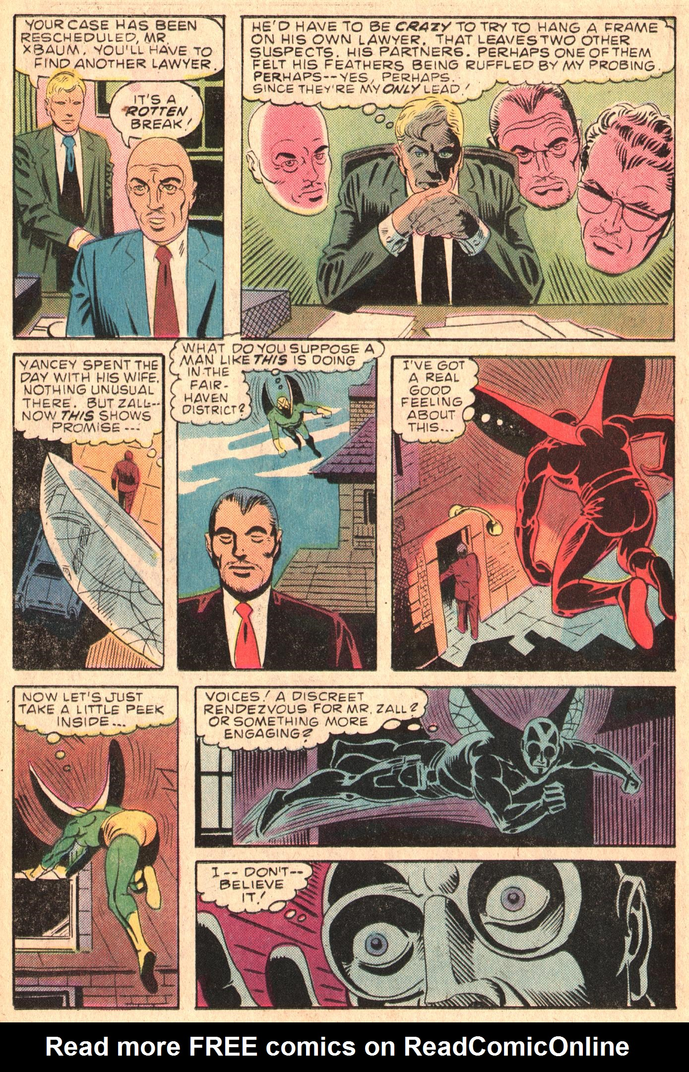 Read online The Fly (1983) comic -  Issue #5 - 14