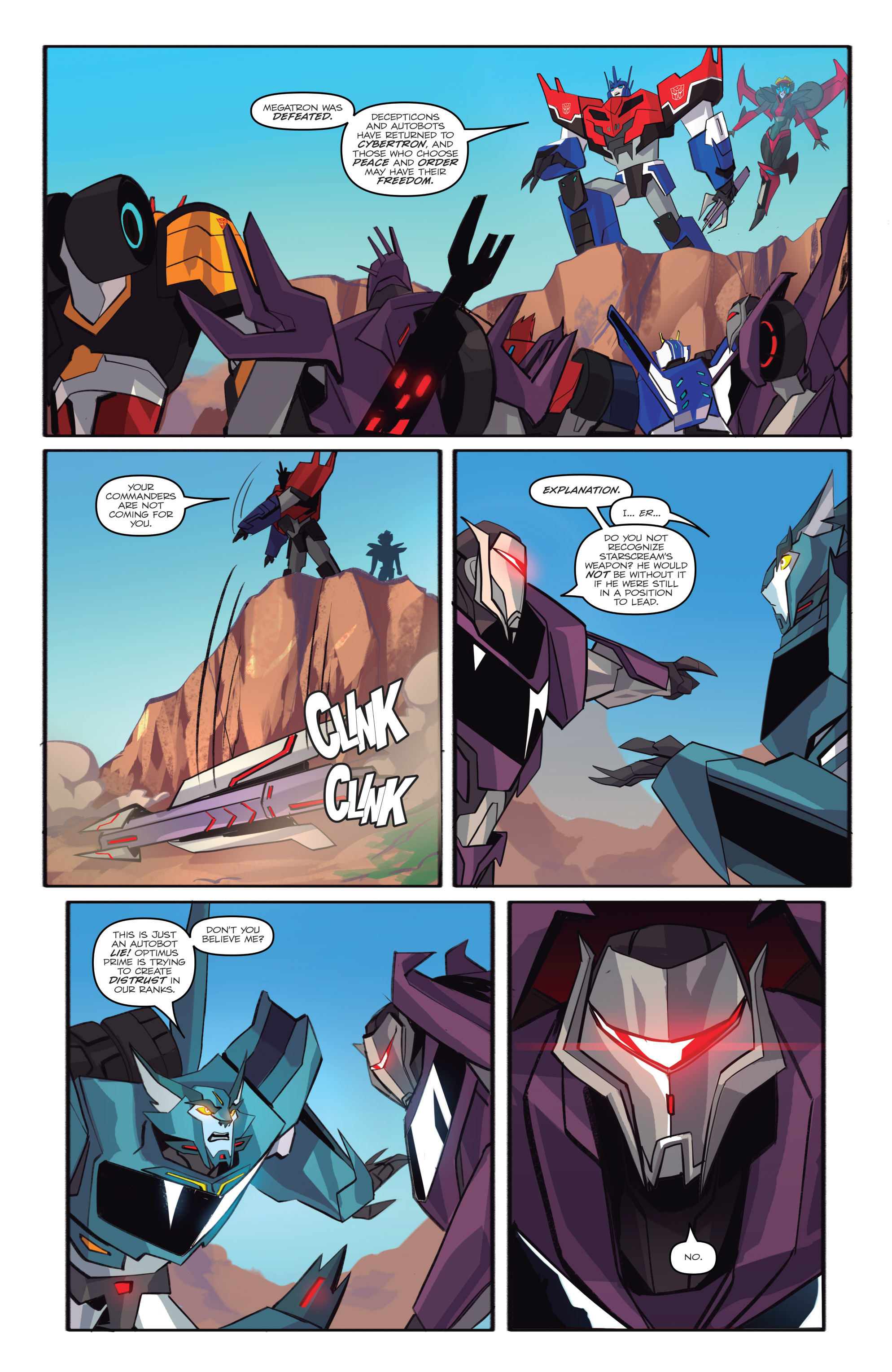 Read online Transformers: Robots In Disguise (2015) comic -  Issue #6 - 20