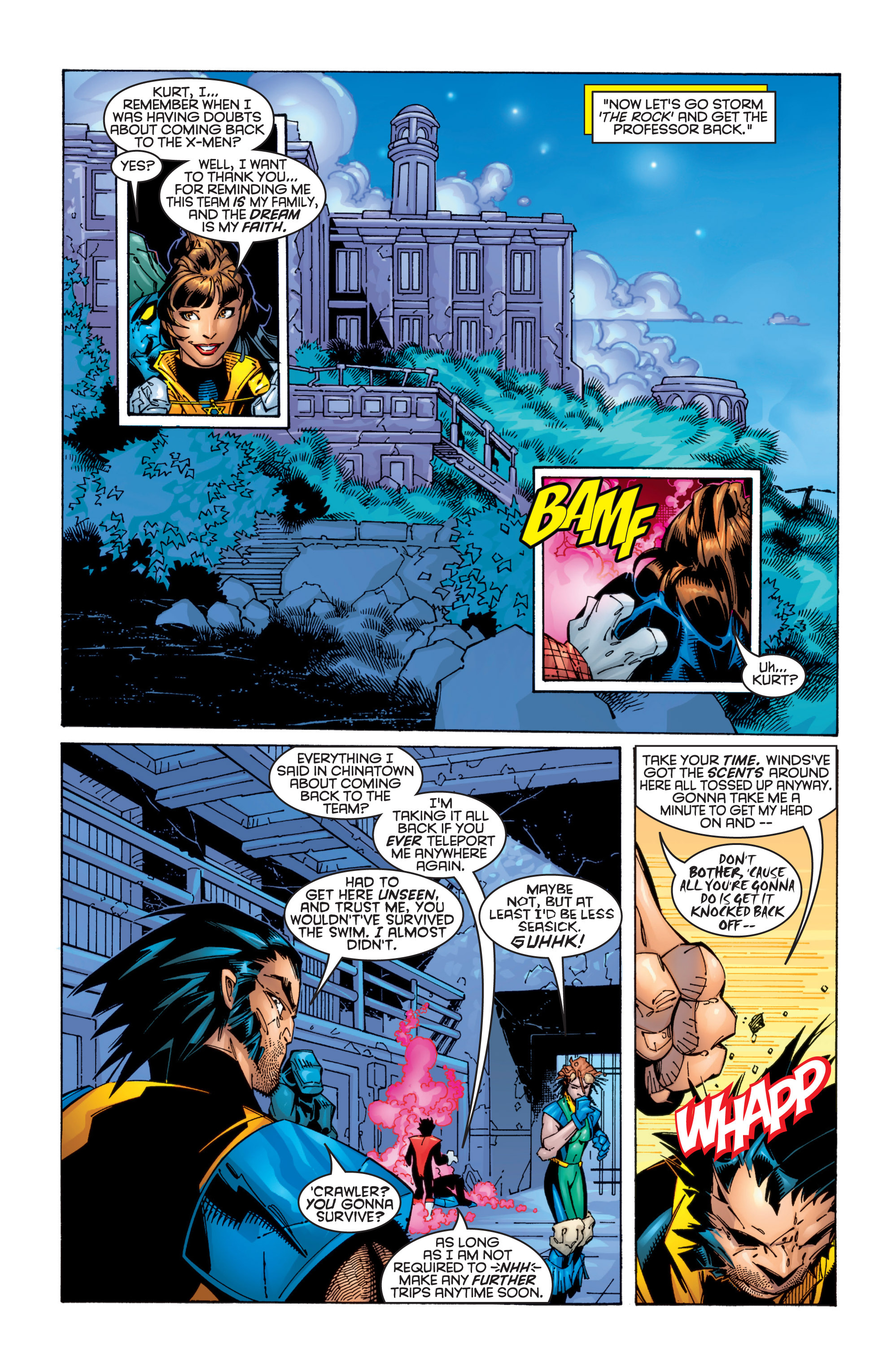 Read online Uncanny X-Men (1963) comic -  Issue #363 - 16