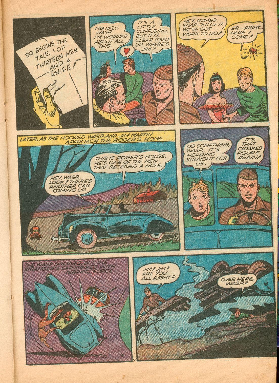 Read online Shadow Comics comic -  Issue #11 - 41