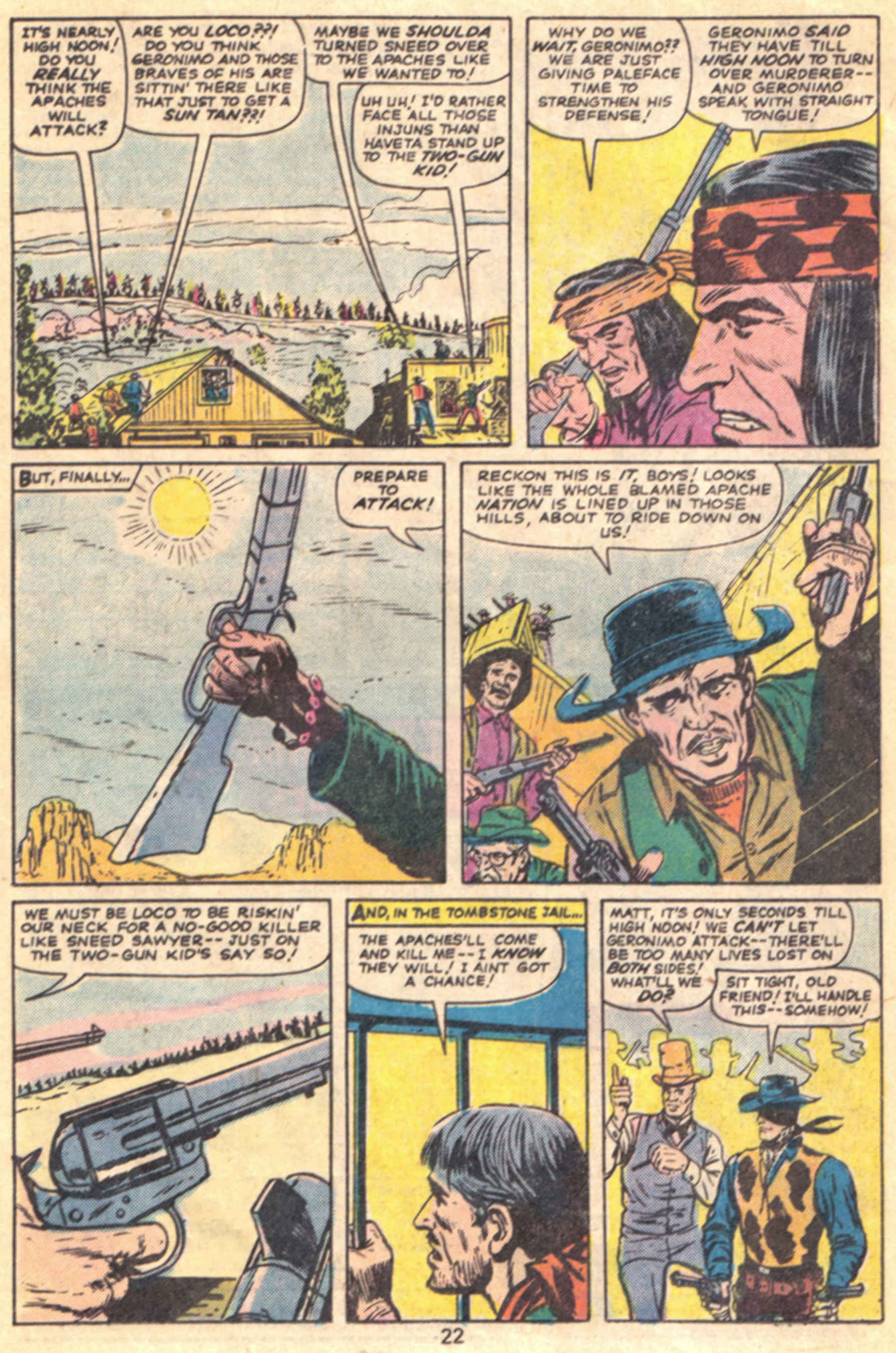Read online Two-Gun Kid comic -  Issue #127 - 25