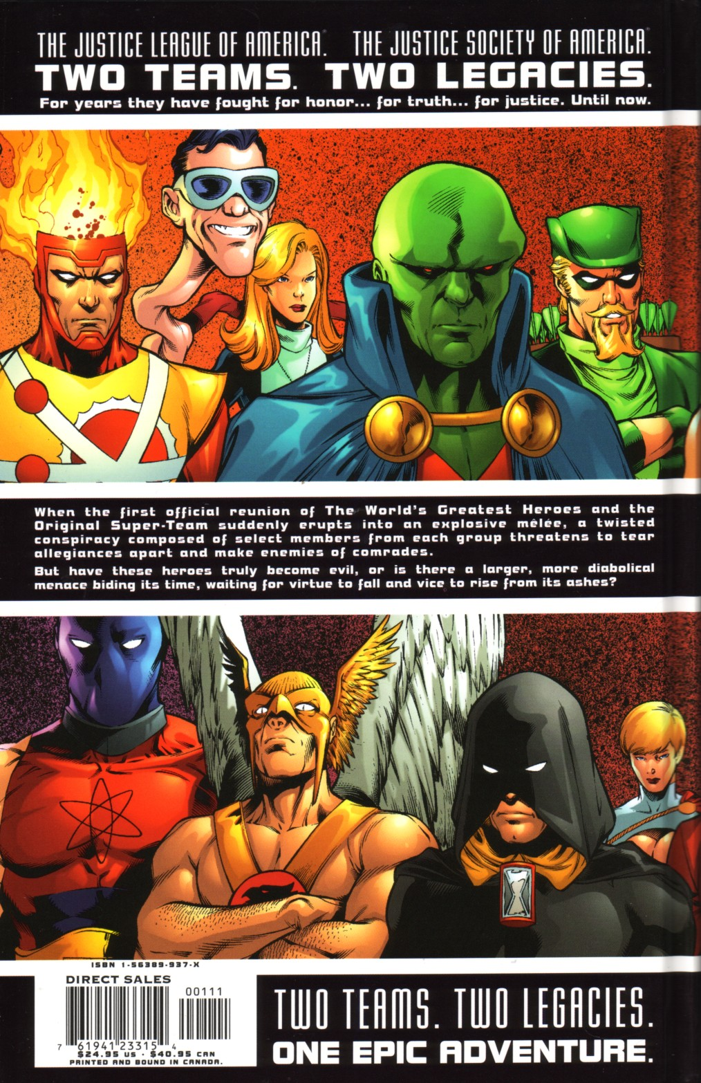 Read online JLA/JSA: Virtue and Vice comic -  Issue # TPB - 96