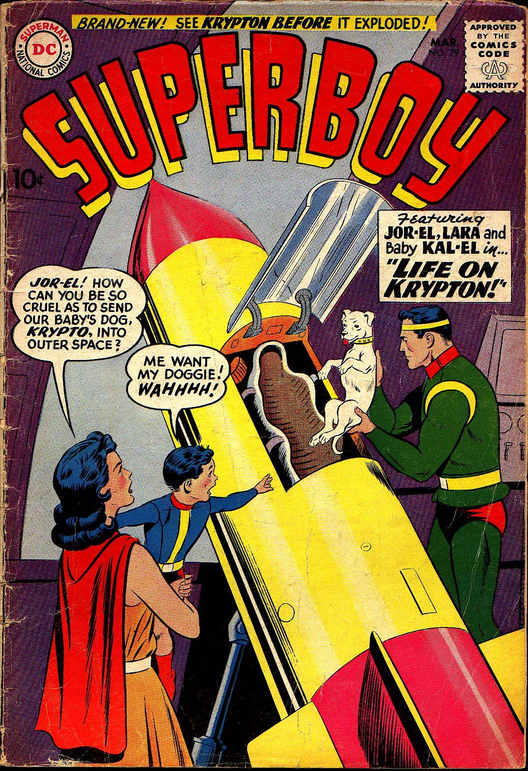 Superboy (1949) issue 79 - Page 1