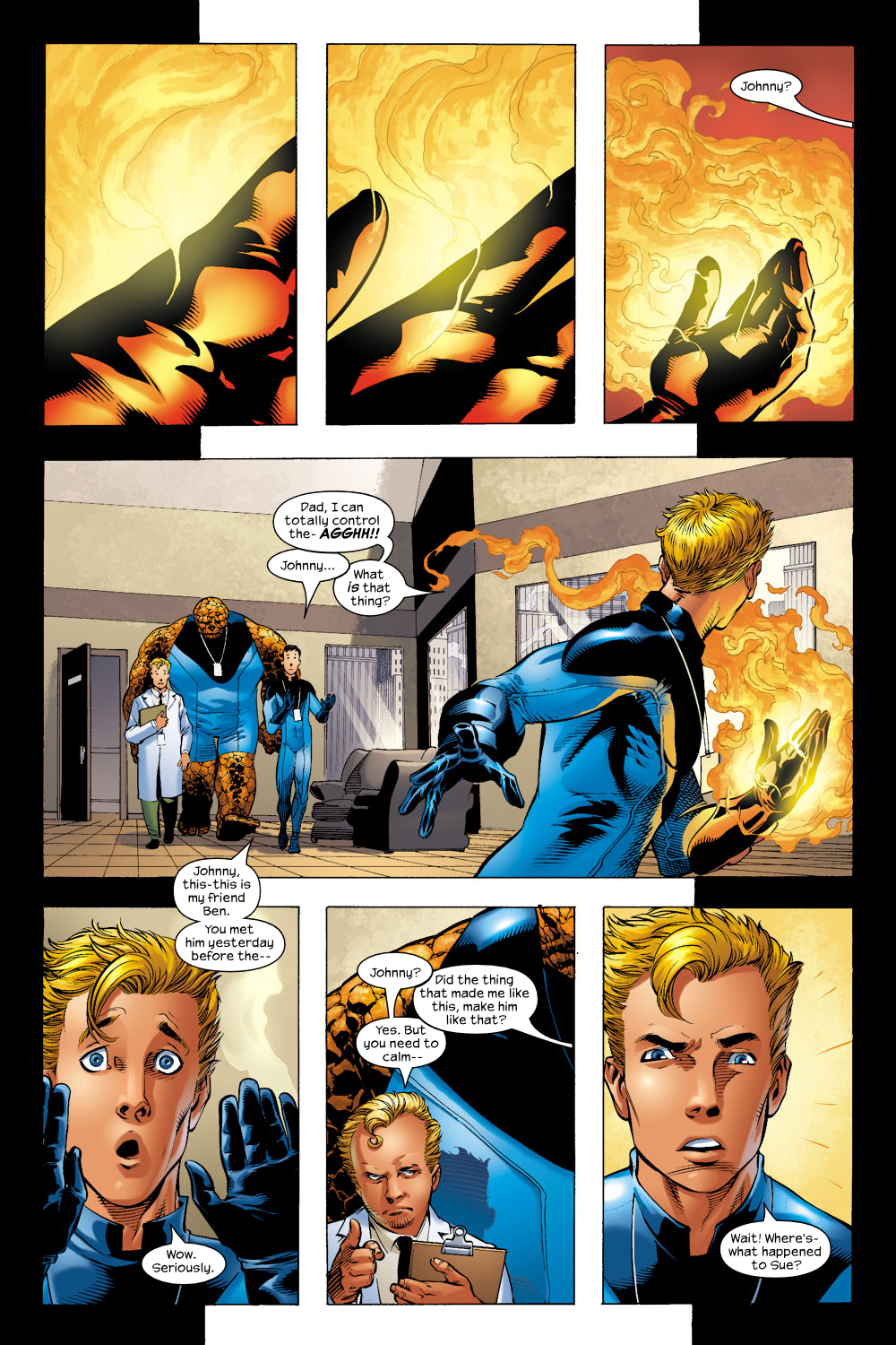 Read online Ultimate Fantastic Four (2004) comic -  Issue #4 - 14