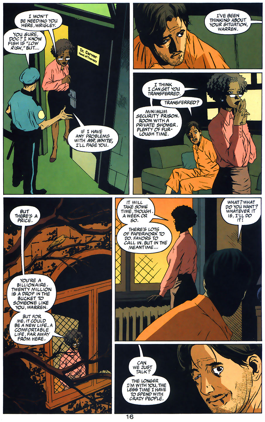 Read online Arkham Asylum: Living Hell comic -  Issue #1 - 18