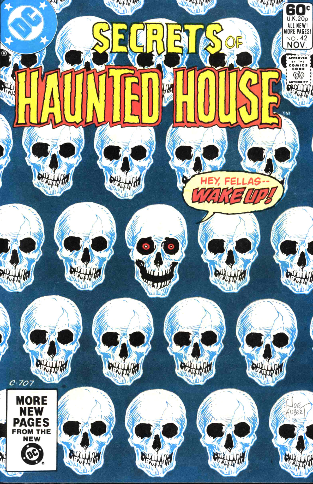 Read online Secrets of Haunted House comic -  Issue #42 - 1