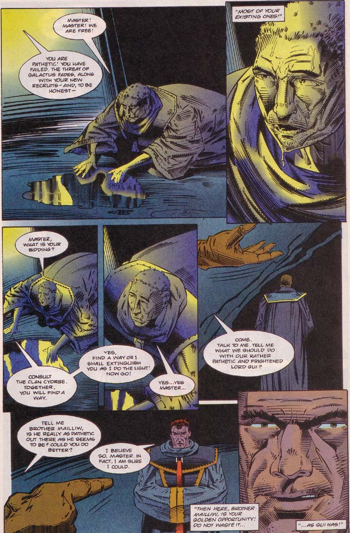 Read online Cyberspace 3000 comic -  Issue #5 - 17