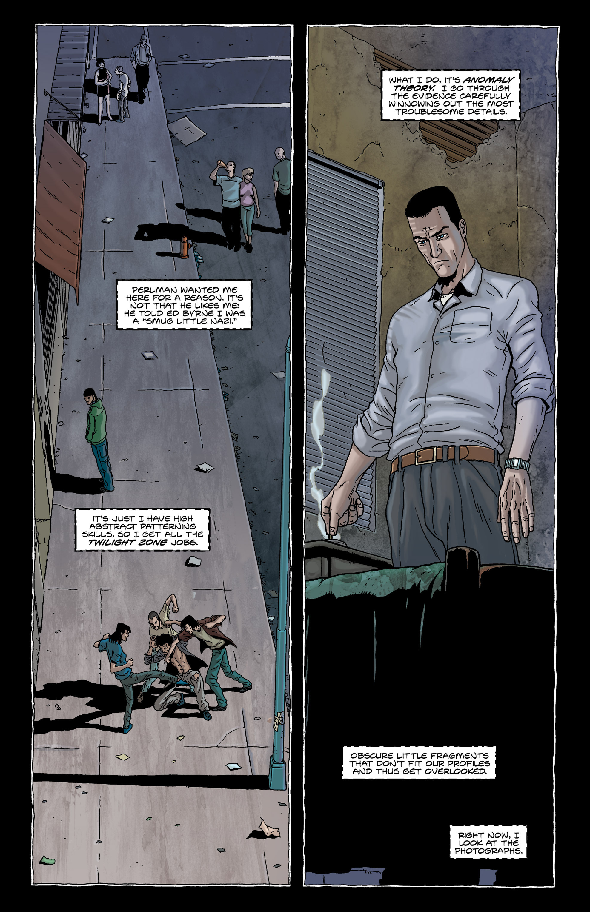 Read online Alan Moore's The Courtyard comic -  Issue # TPB - 12