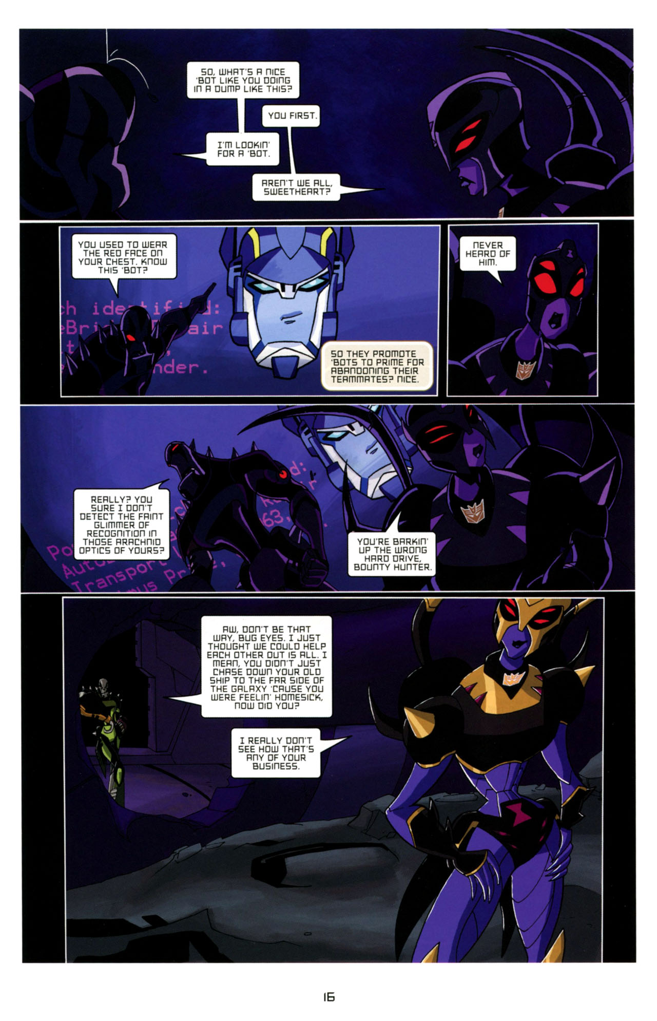 Read online Transformers Animated: The Arrival comic -  Issue #4 - 19