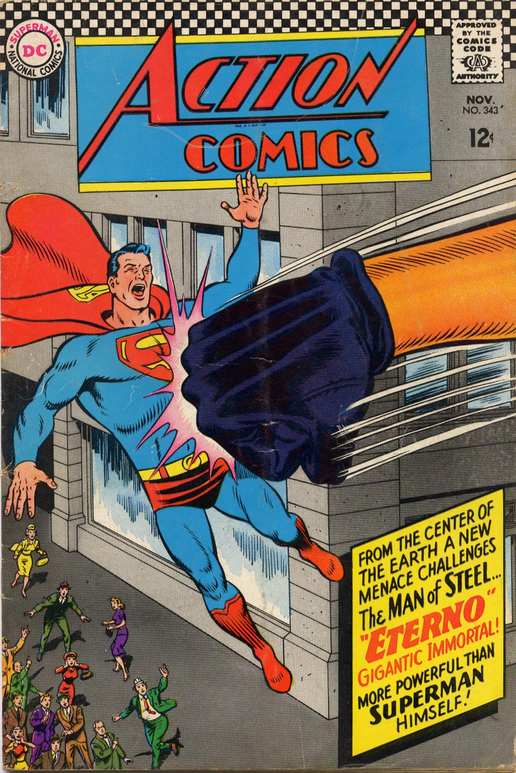 Action Comics (1938) 343 Page 1