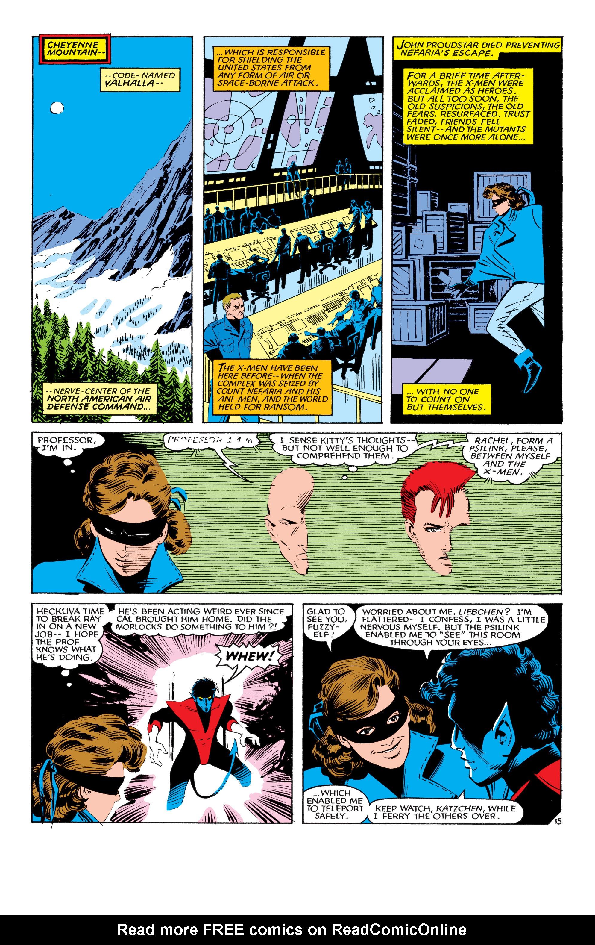 Read online Uncanny X-Men (1963) comic -  Issue #193 - 16