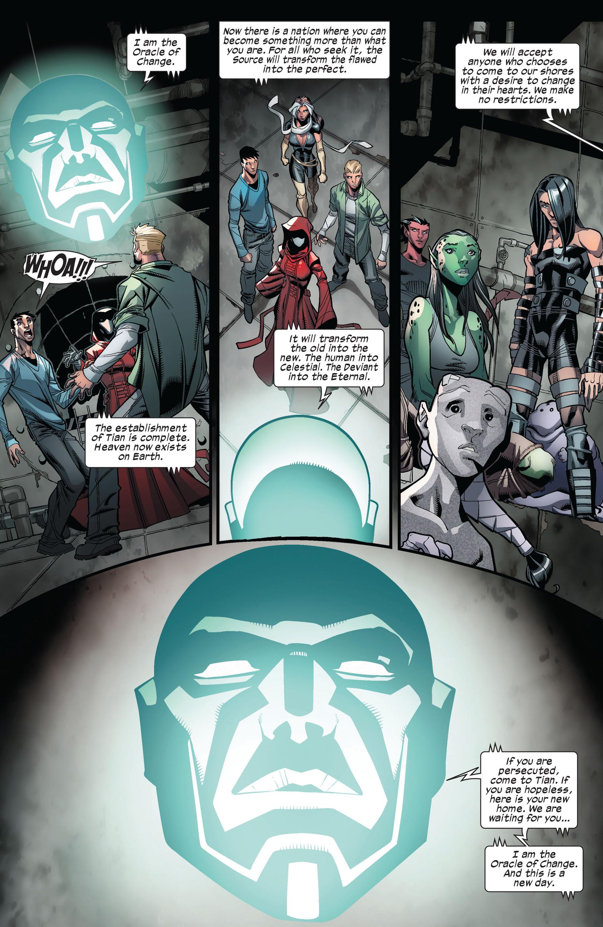 Read online Ultimate Comics X-Men comic -  Issue #6 - 17