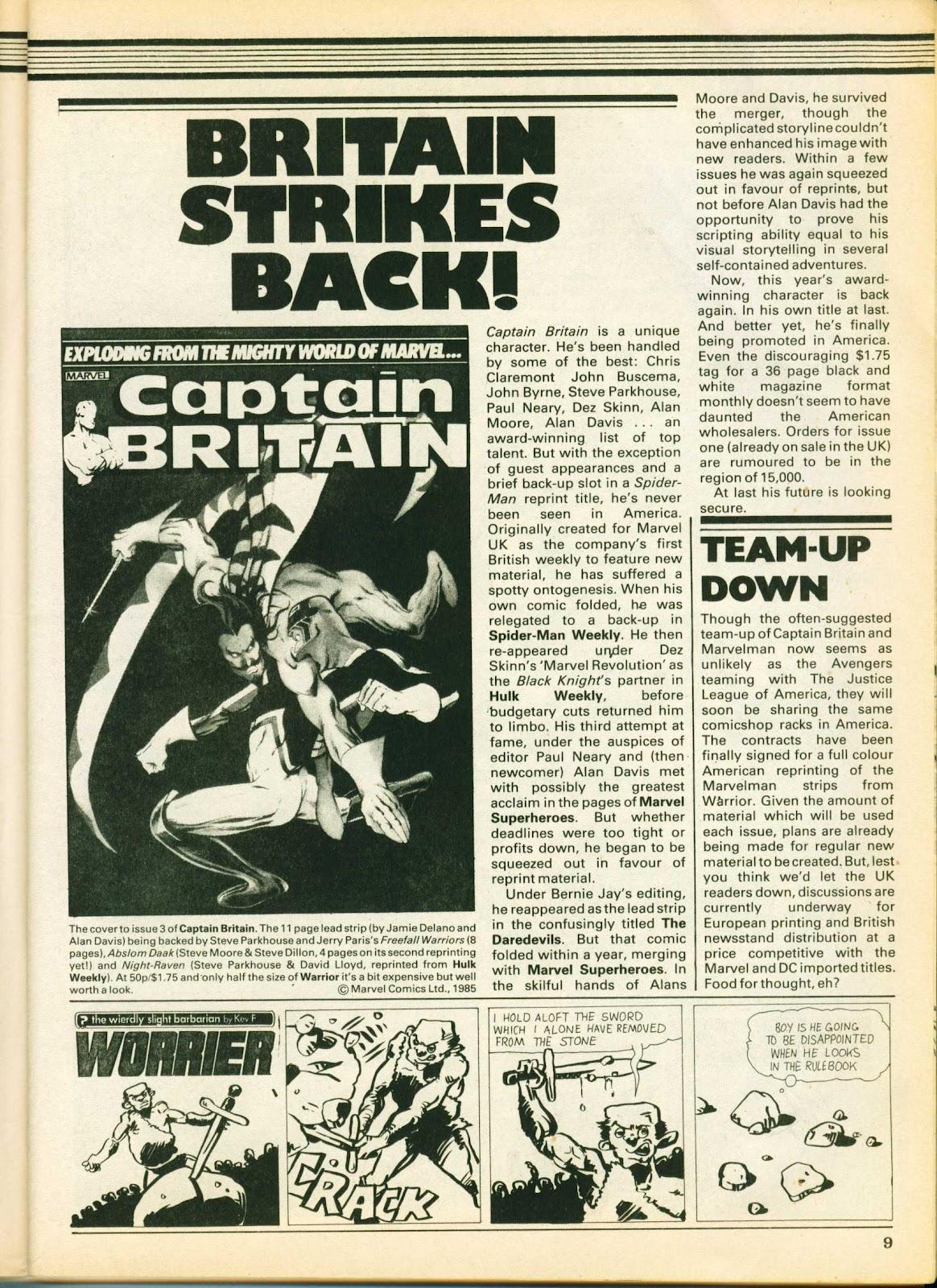 Warrior Issue #26 #27 - English 9