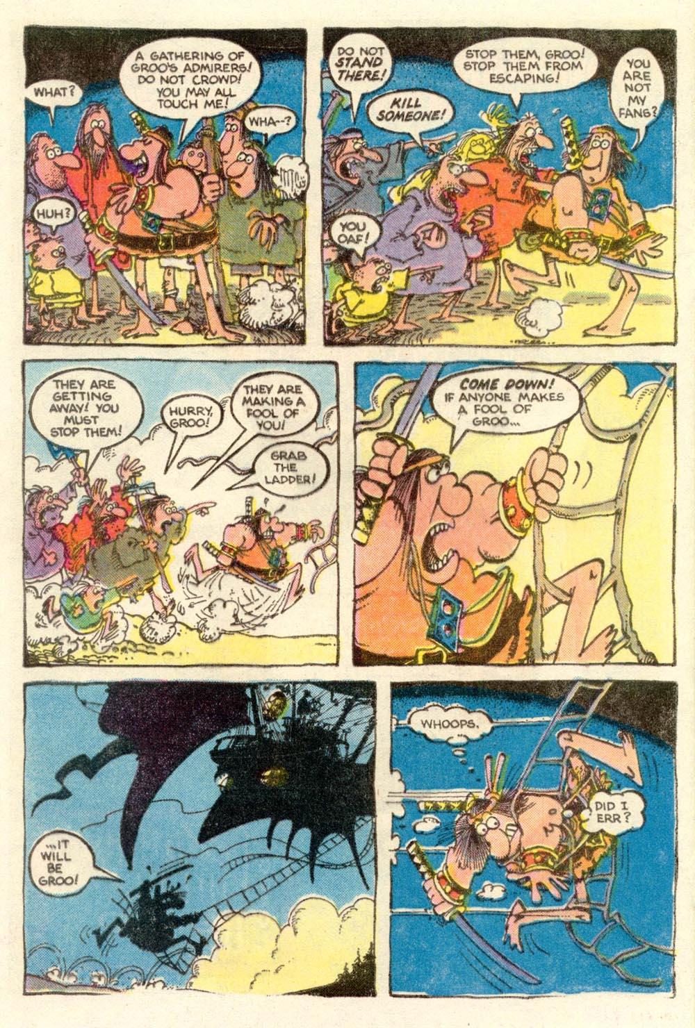 Read online Sergio Aragonés Groo the Wanderer comic -  Issue #4 - 5