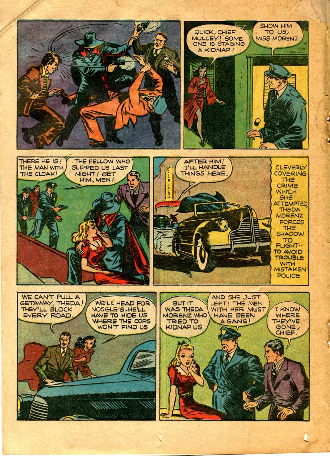 Read online Shadow Comics comic -  Issue #9 - 30