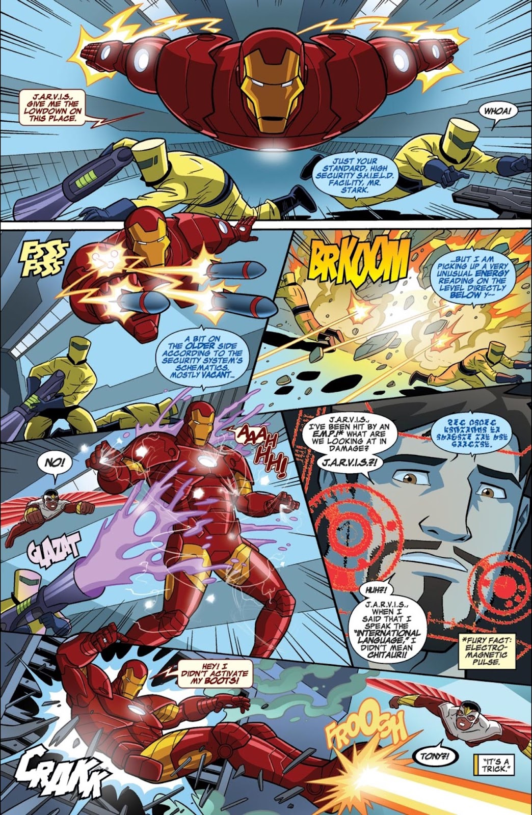 Read online Marvel Universe Avengers Assemble Season 2 comic -  Issue #1 - 26