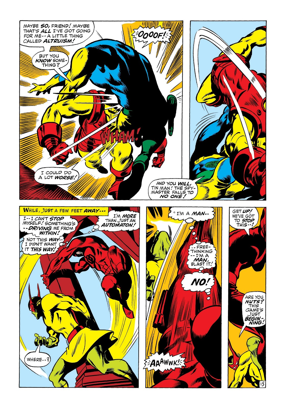 Read online Marvel Masterworks: The Invincible Iron Man comic -  Issue # TPB 7 (Part 3) - 23