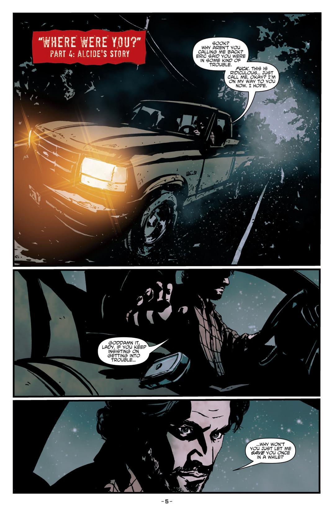 Read online True Blood (2012) comic -  Issue #4 - 7